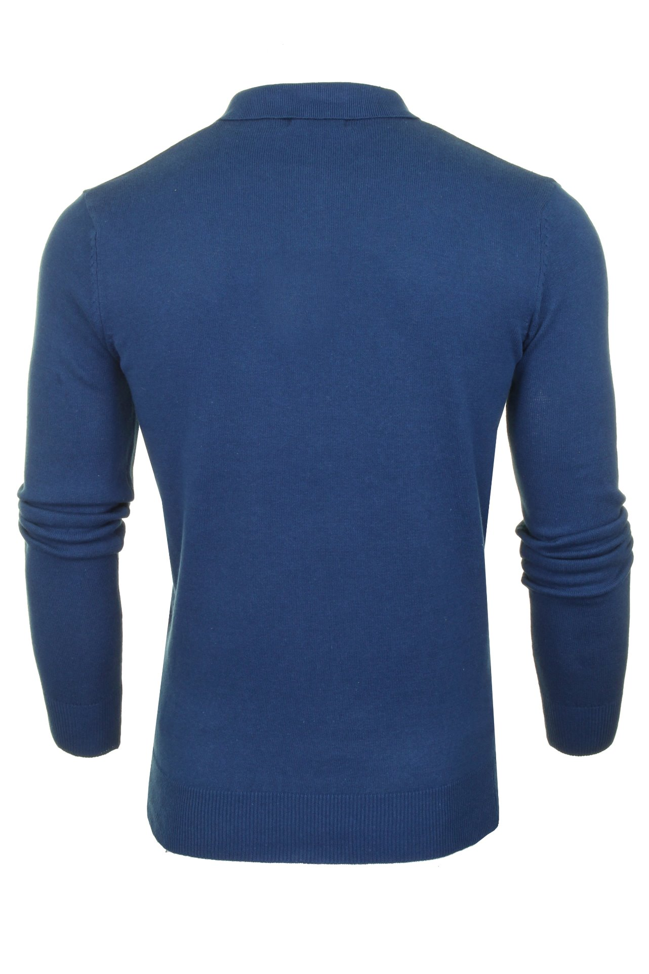 Mens-Knitted-Polo-Shirt-by-Brave-Soul-Long-Sleeved thumbnail 38