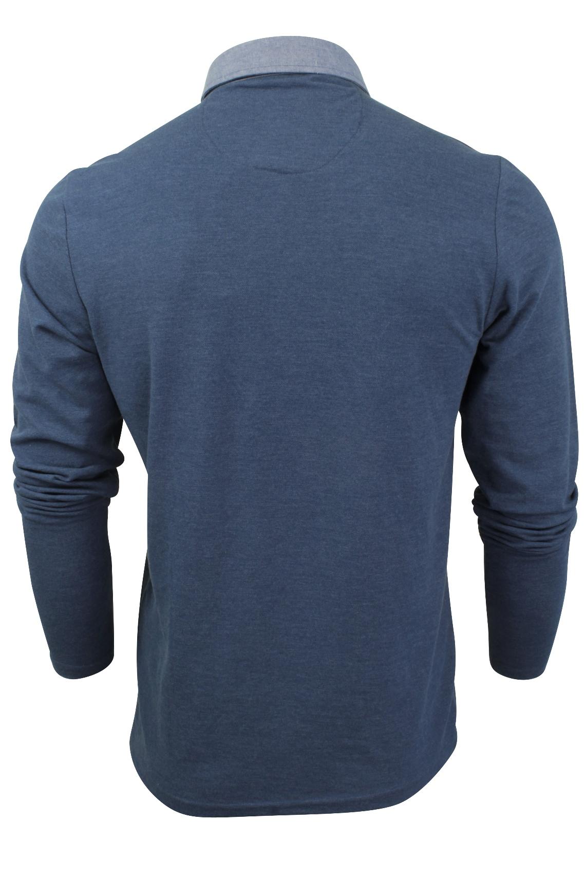 Camisa-Polo-Para-Hombre-Por-Brave-Soul-Golf-De-Mangas-Largas-Informal miniatura 28