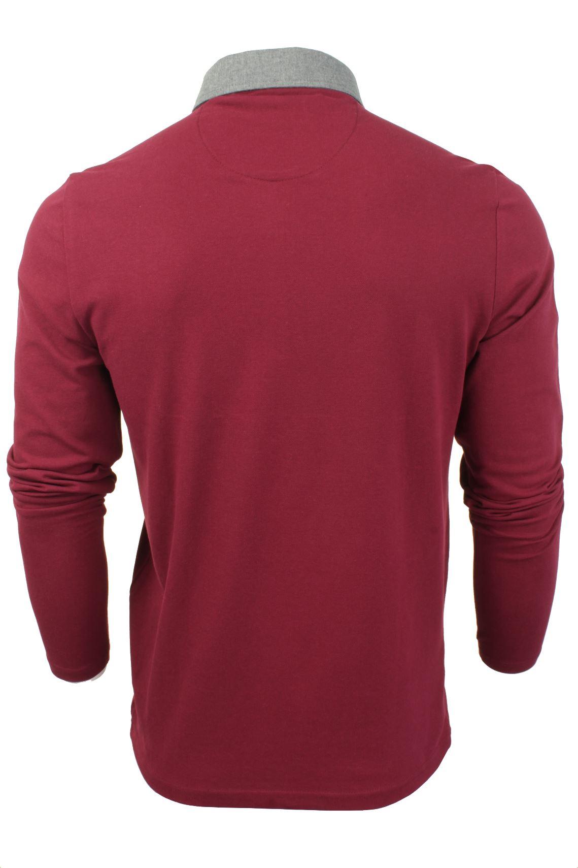 Camisa-Polo-Para-Hombre-Por-Brave-Soul-Golf-De-Mangas-Largas-Informal miniatura 22