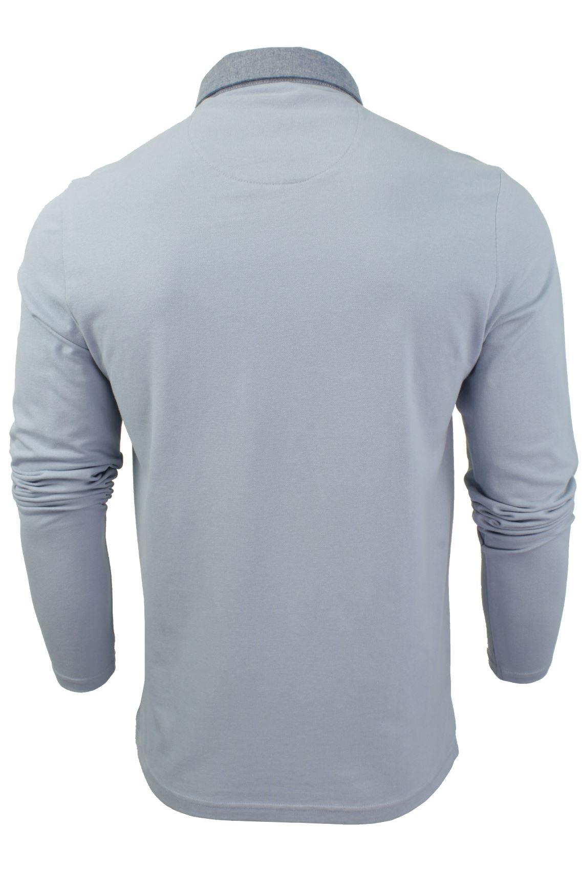 Camisa-Polo-Para-Hombre-Por-Brave-Soul-Golf-De-Mangas-Largas-Informal miniatura 11