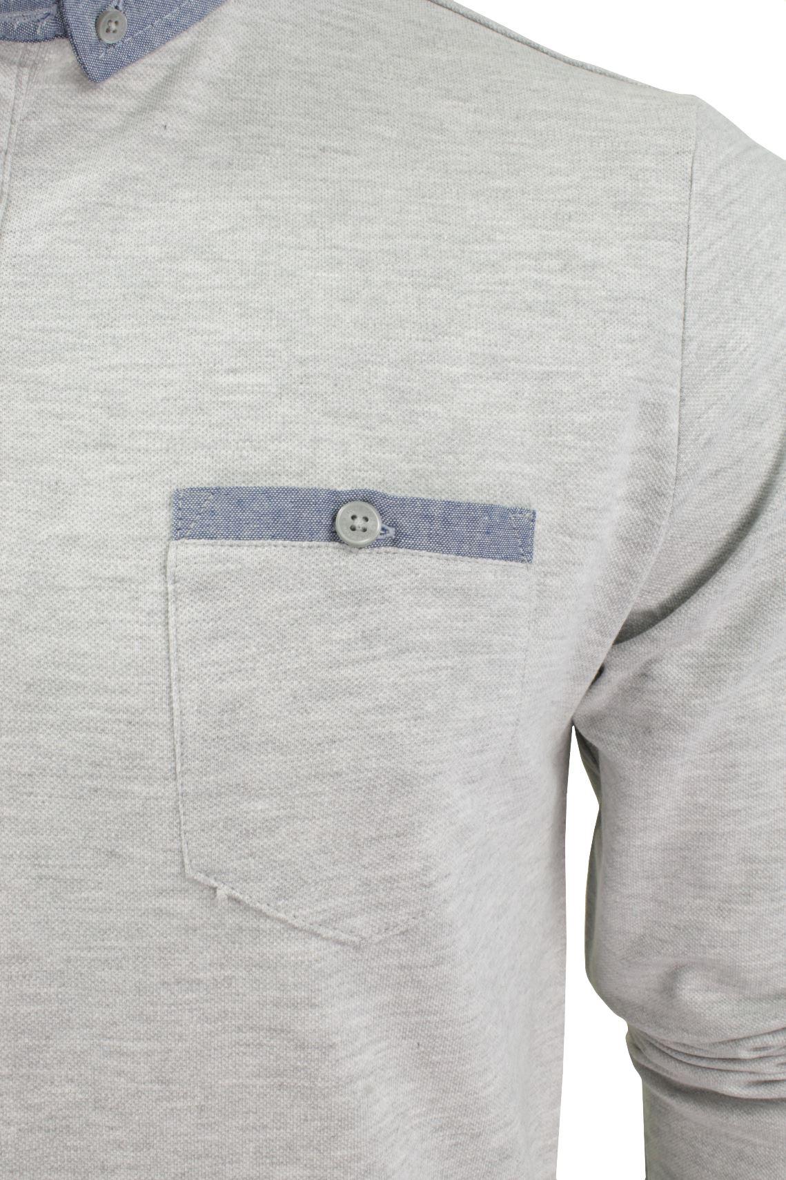 Camisa-Polo-Para-Hombre-Por-Brave-Soul-Golf-De-Mangas-Largas-Informal miniatura 24