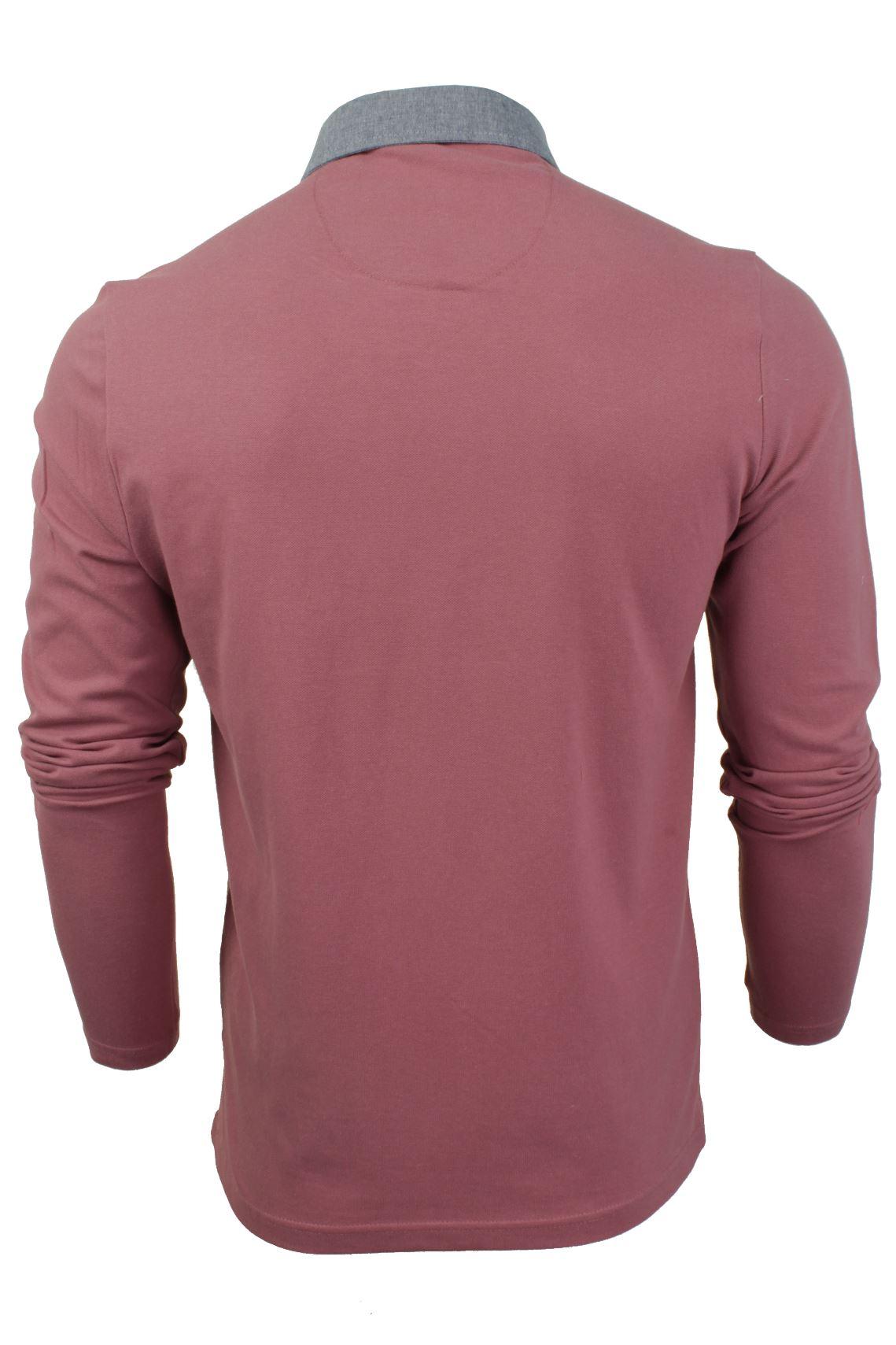Camisa-Polo-Para-Hombre-Por-Brave-Soul-Golf-De-Mangas-Largas-Informal miniatura 31