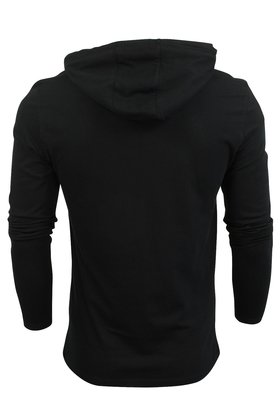 Brave-Soul-Mens-Hoodie-T-Shirt-039-Morris-039-Long-Sleeved thumbnail 4