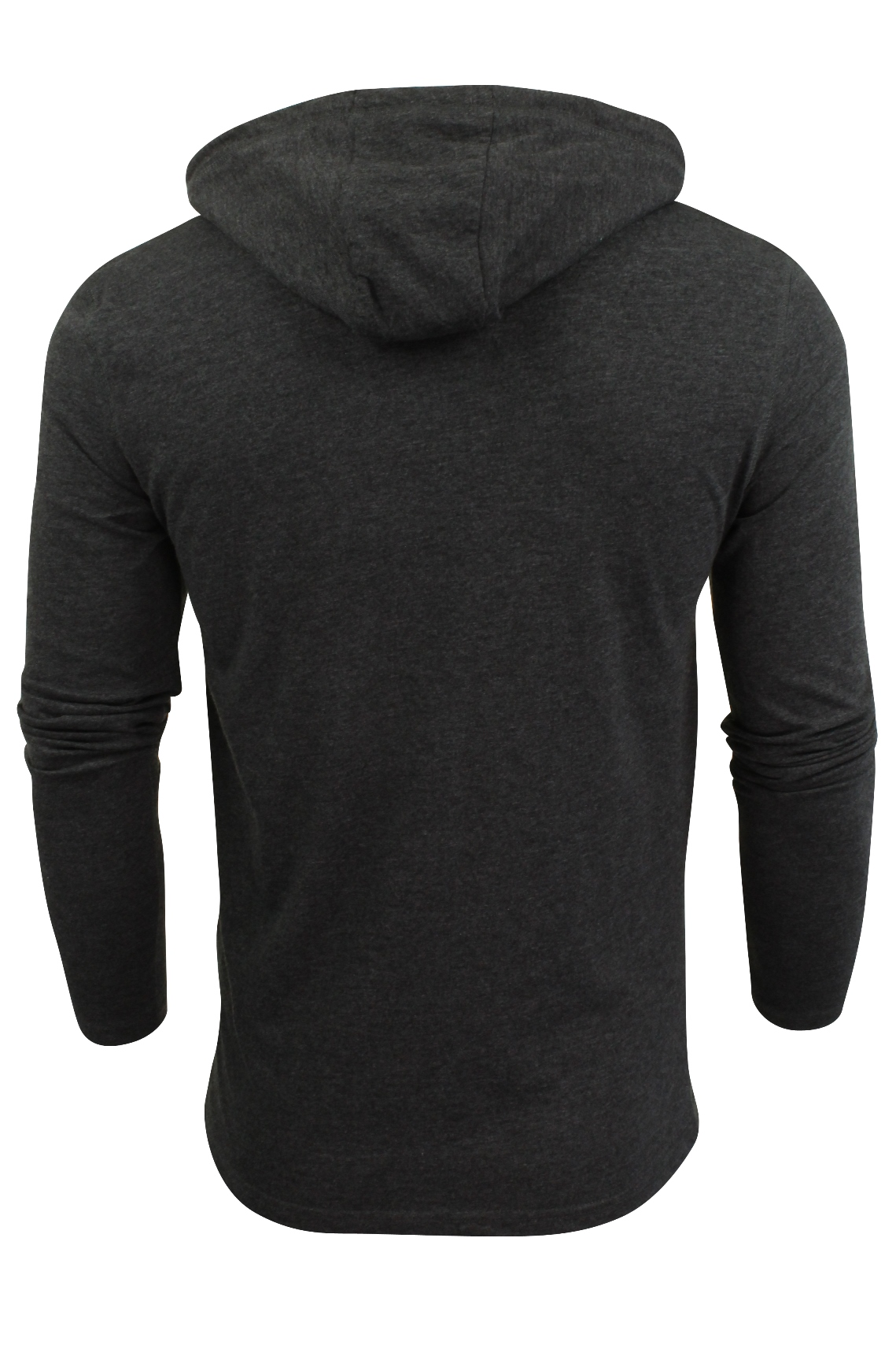 Brave-Soul-Mens-Hoodie-T-Shirt-039-Morris-039-Long-Sleeved thumbnail 6