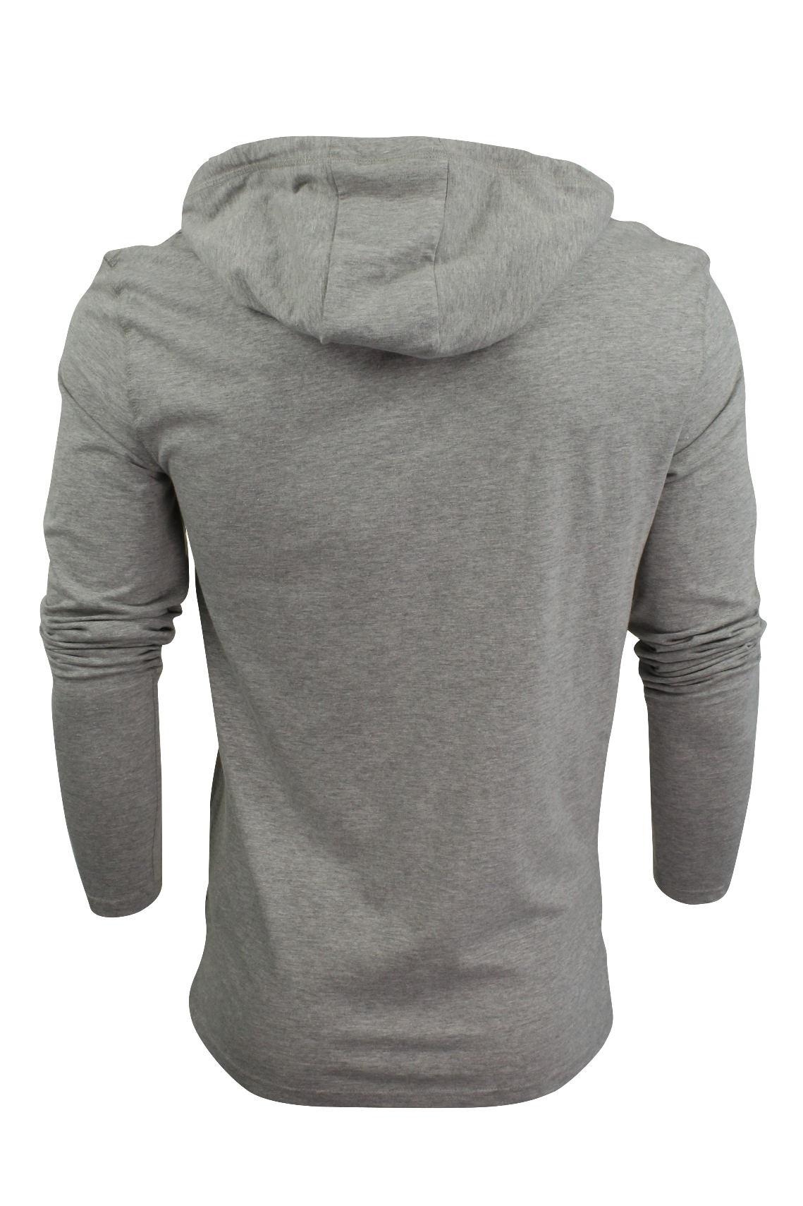 Brave-Soul-Mens-Hoodie-T-Shirt-039-Morris-039-Long-Sleeved thumbnail 8