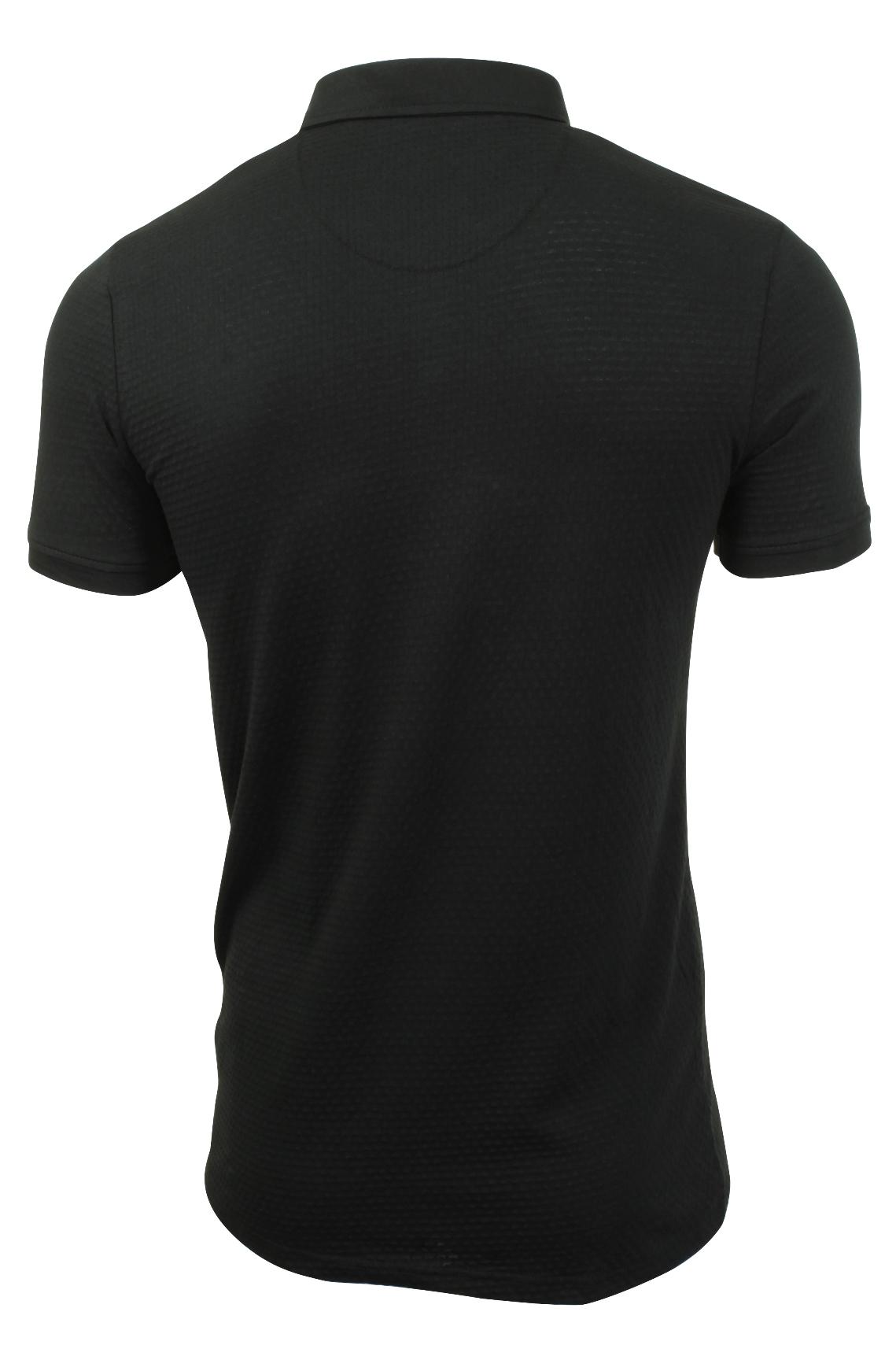 Mens-Polo-Shirt-by-Brave-Soul-Short-Sleeved thumbnail 5
