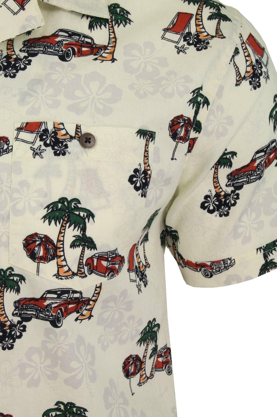 Mens-Brave-Soul-Hawaiian-Shirt-Short-Sleeved thumbnail 4