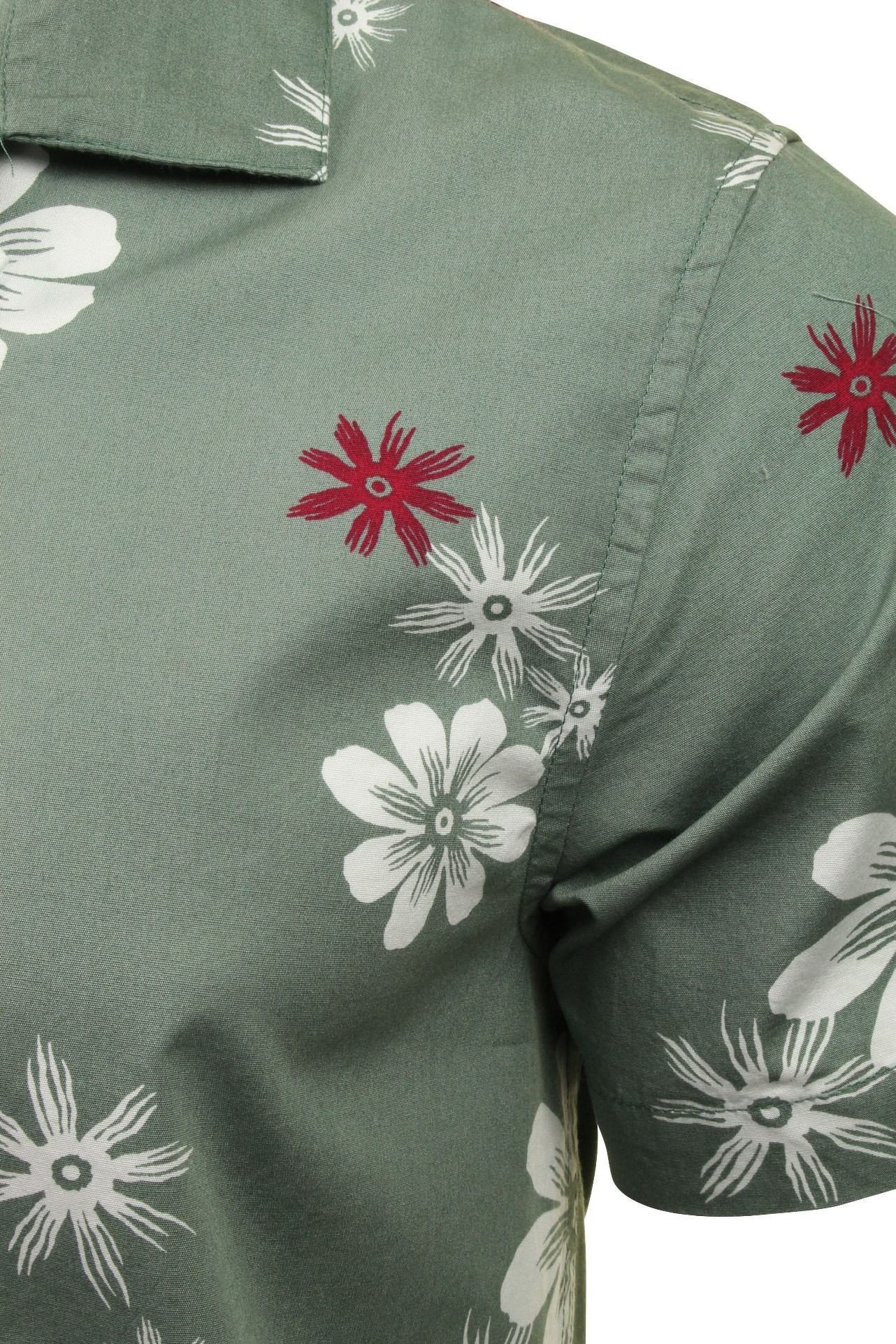 Brave-Soul-039-Bonsai-039-Hawaiian-Shirt thumbnail 7