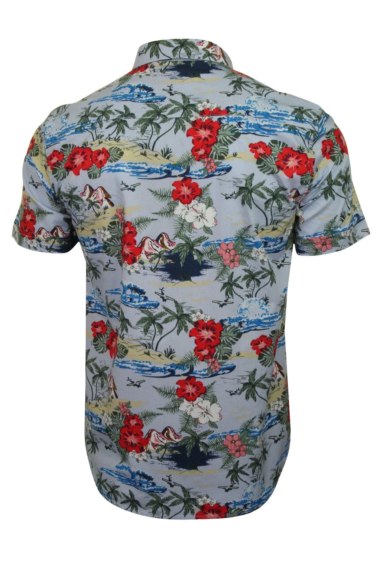 Brave Soul Herren Hawaii-Hemden /'Climate/' Hawaii-Hemden Polokragen Kurzarm