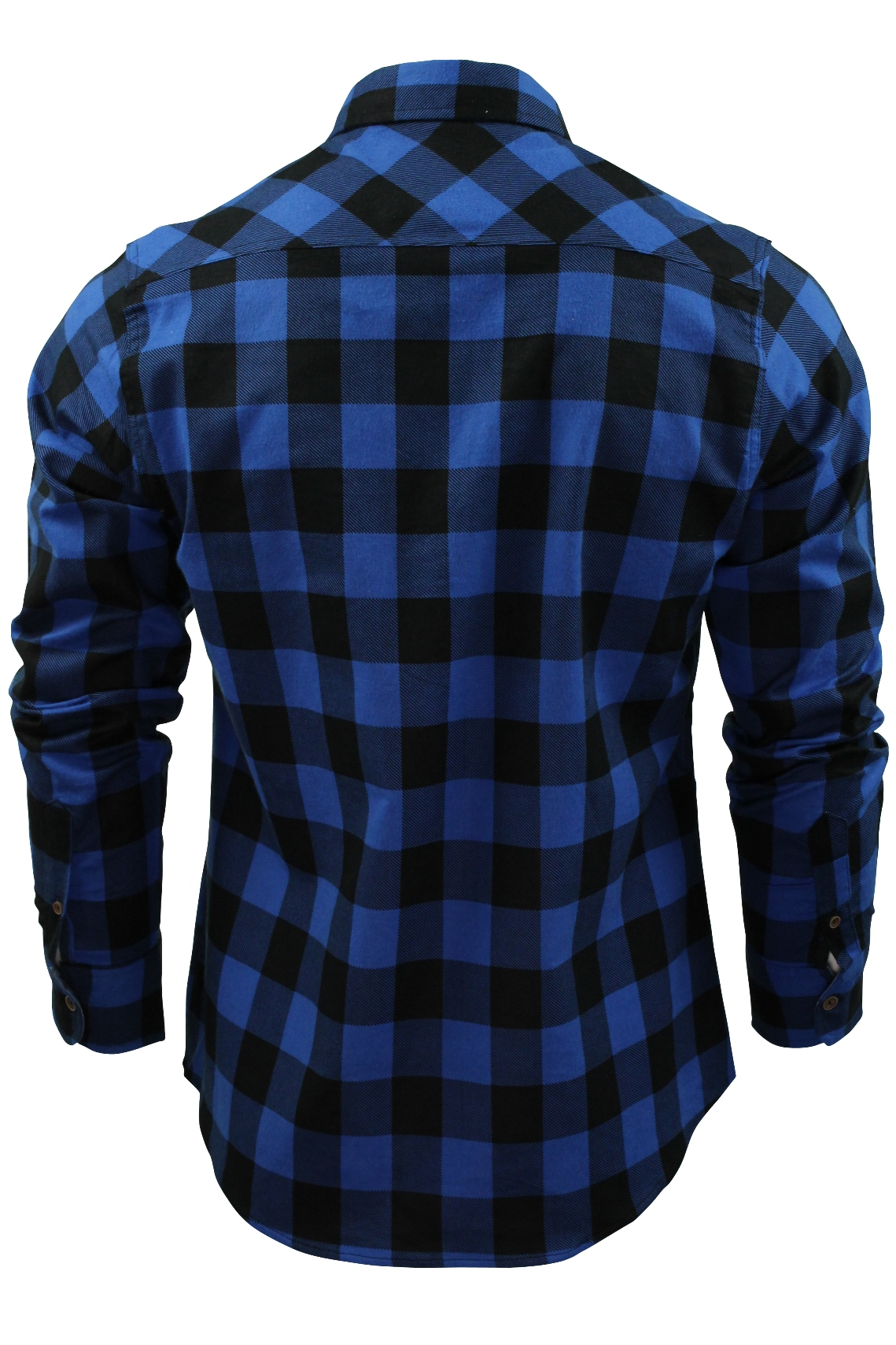 Brave-Soul-Brushed-Flannel-Check-Cotton-Jack-Shirt-Long-Sleeved thumbnail 6