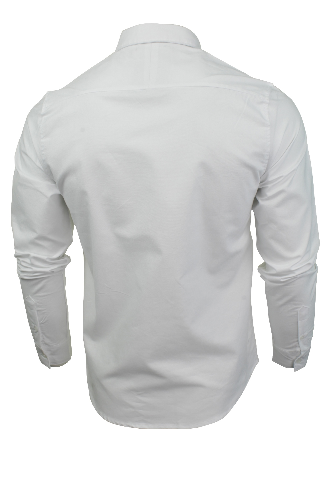 Camicia-da-Uomo-da-Brave-Soul-034-POMPEI-034-A-Maniche-Lunghe-Oxford miniatura 8