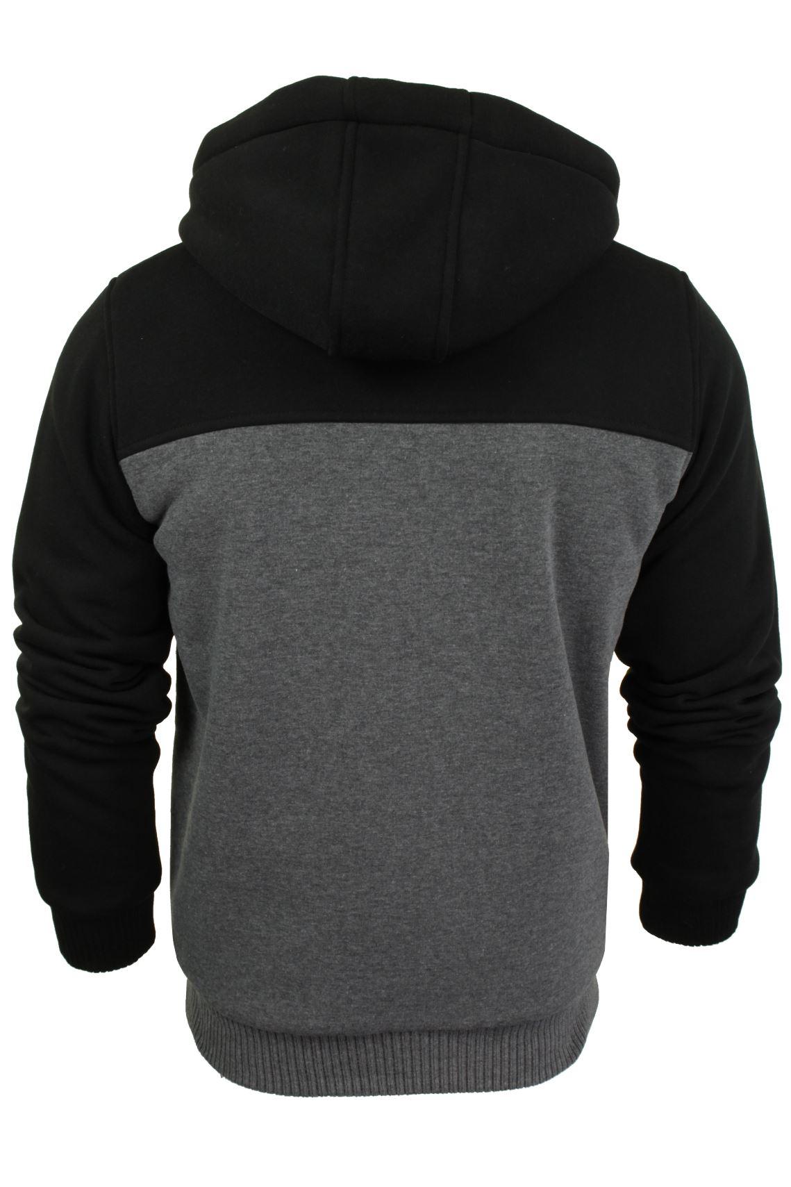 Brave-Soul-Mens-Hooded-Sweatshirt-Jumper-039-Zone-039-Hoodie-Sherpa-Lined thumbnail 5