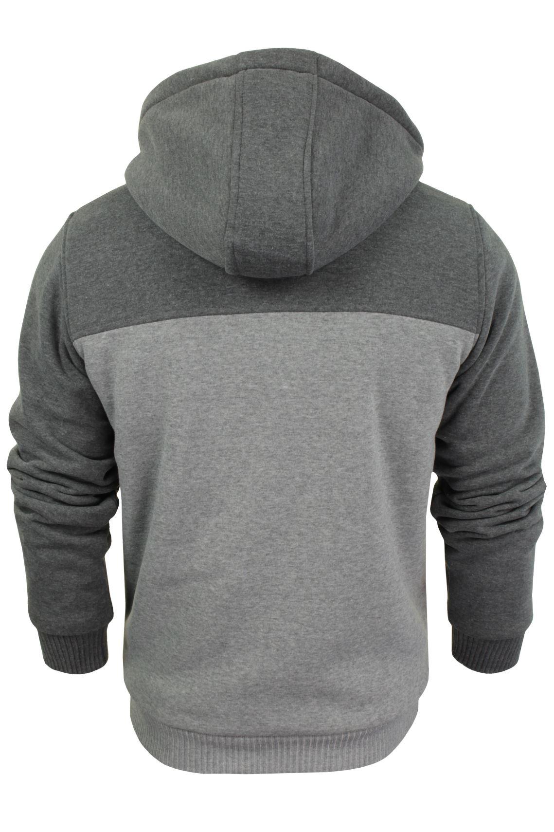 Brave-Soul-Mens-Hooded-Sweatshirt-Jumper-039-Zone-039-Hoodie-Sherpa-Lined thumbnail 11