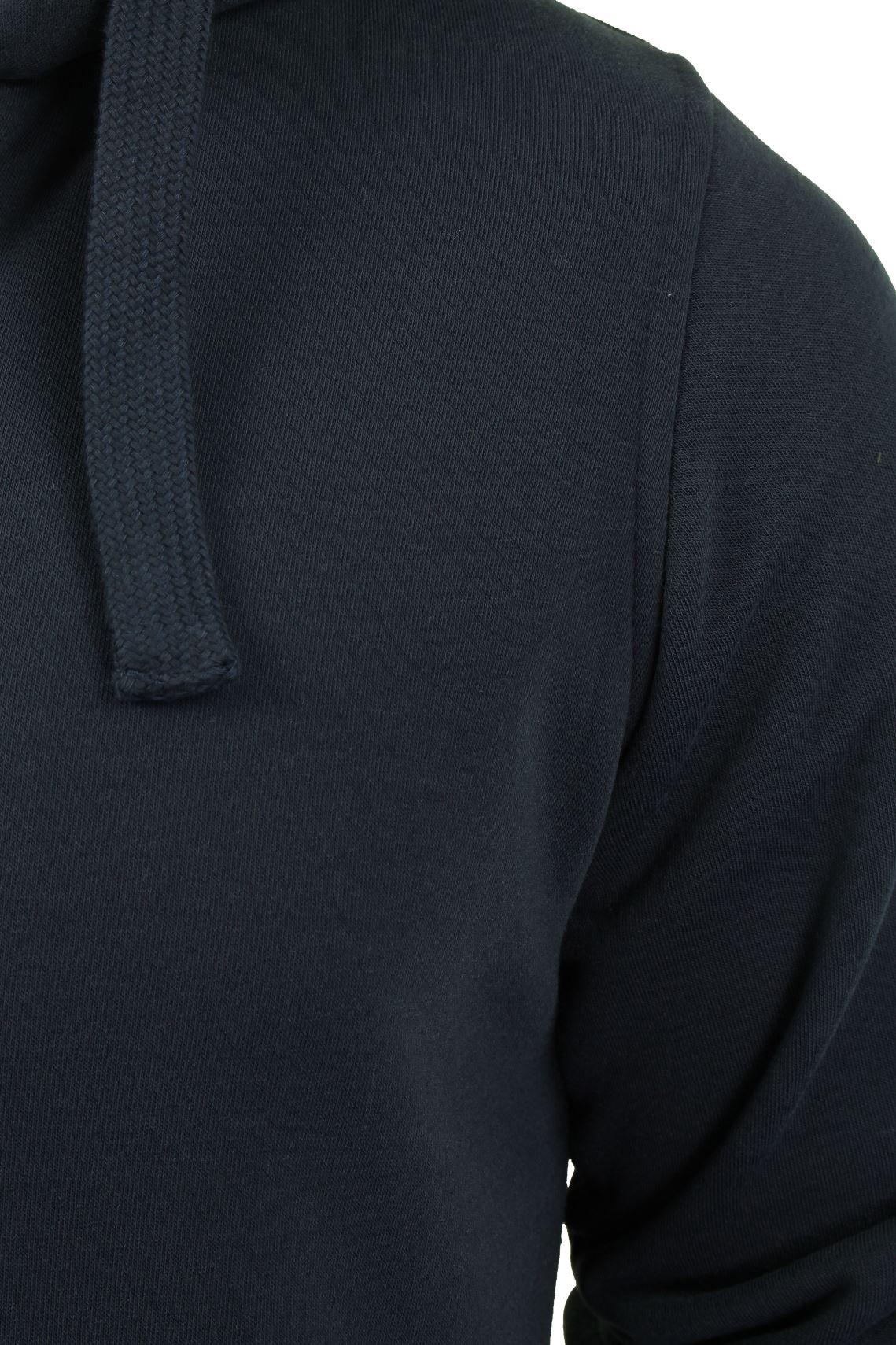 Brave-Soul-Mens-Hooded-Sweatshirt-Jumper-039-Zone-039-Hoodie-Sherpa-Lined thumbnail 7