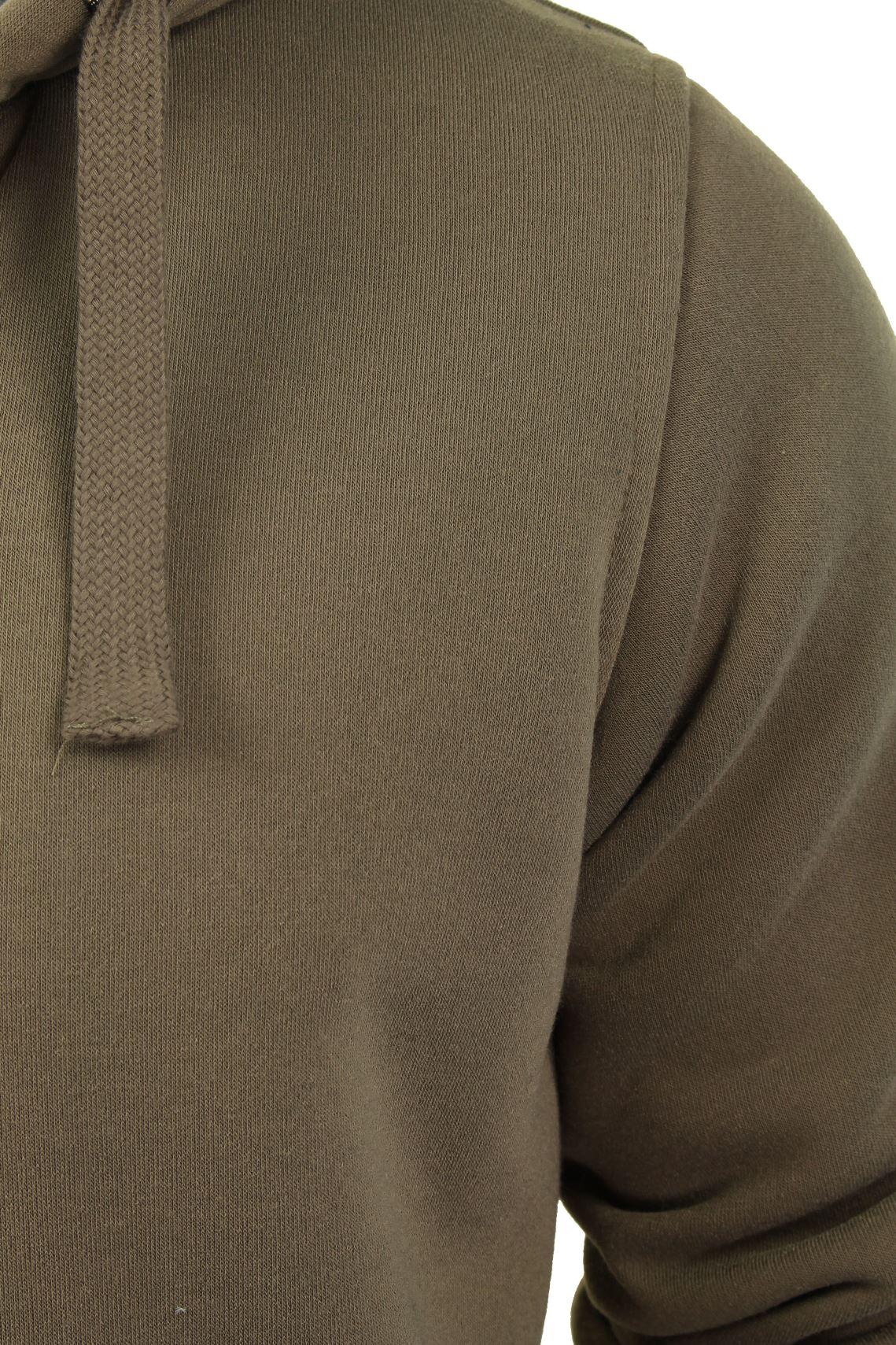 Brave-Soul-Mens-Hooded-Sweatshirt-Jumper-039-Zone-039-Hoodie-Sherpa-Lined thumbnail 16