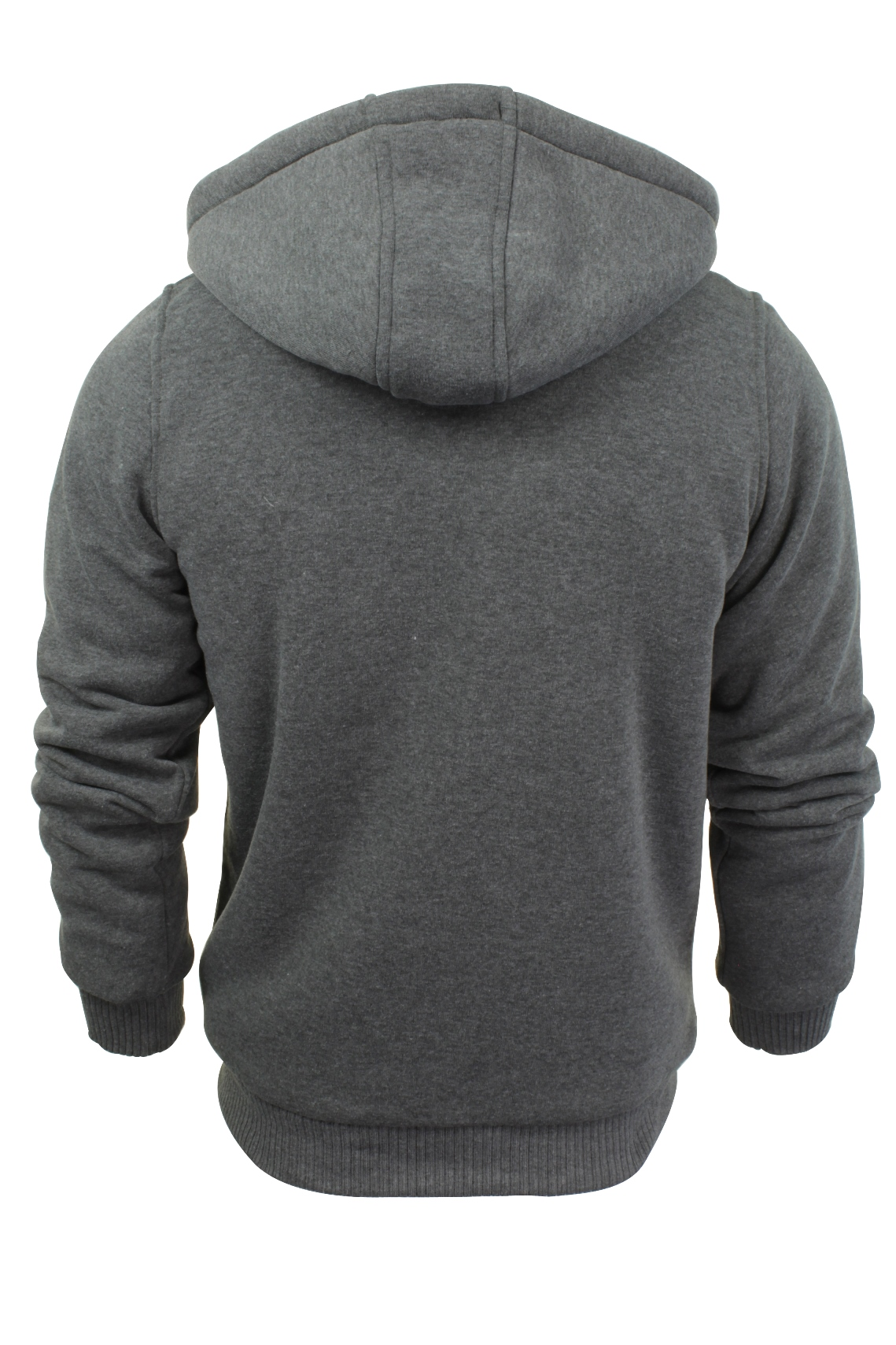 Brave-Soul-Mens-Hooded-Sweatshirt-Jumper-039-Zone-039-Hoodie-Sherpa-Lined thumbnail 21