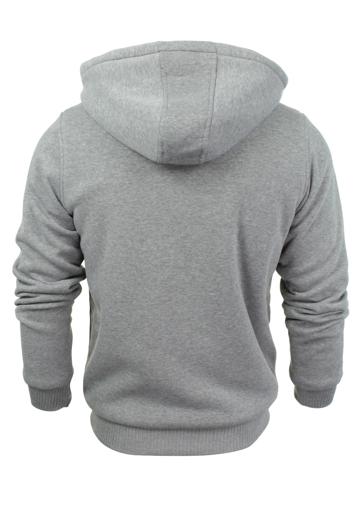 Brave-Soul-Mens-Hooded-Sweatshirt-Jumper-039-Zone-039-Hoodie-Sherpa-Lined thumbnail 23