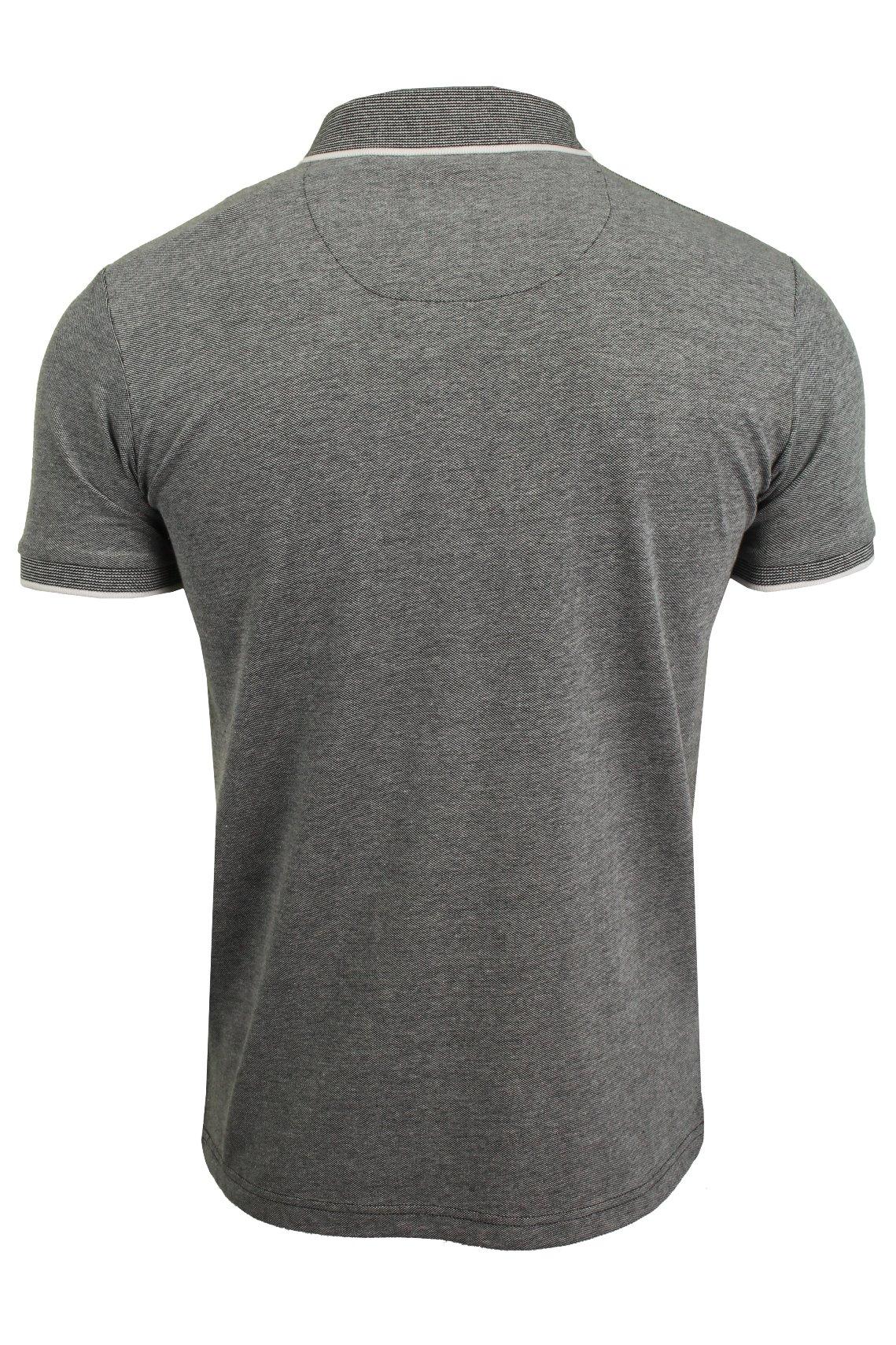 Brave-Soul-Mens-Polo-T-Shirt-Birdseye-Pique-Short-Sleeved thumbnail 5