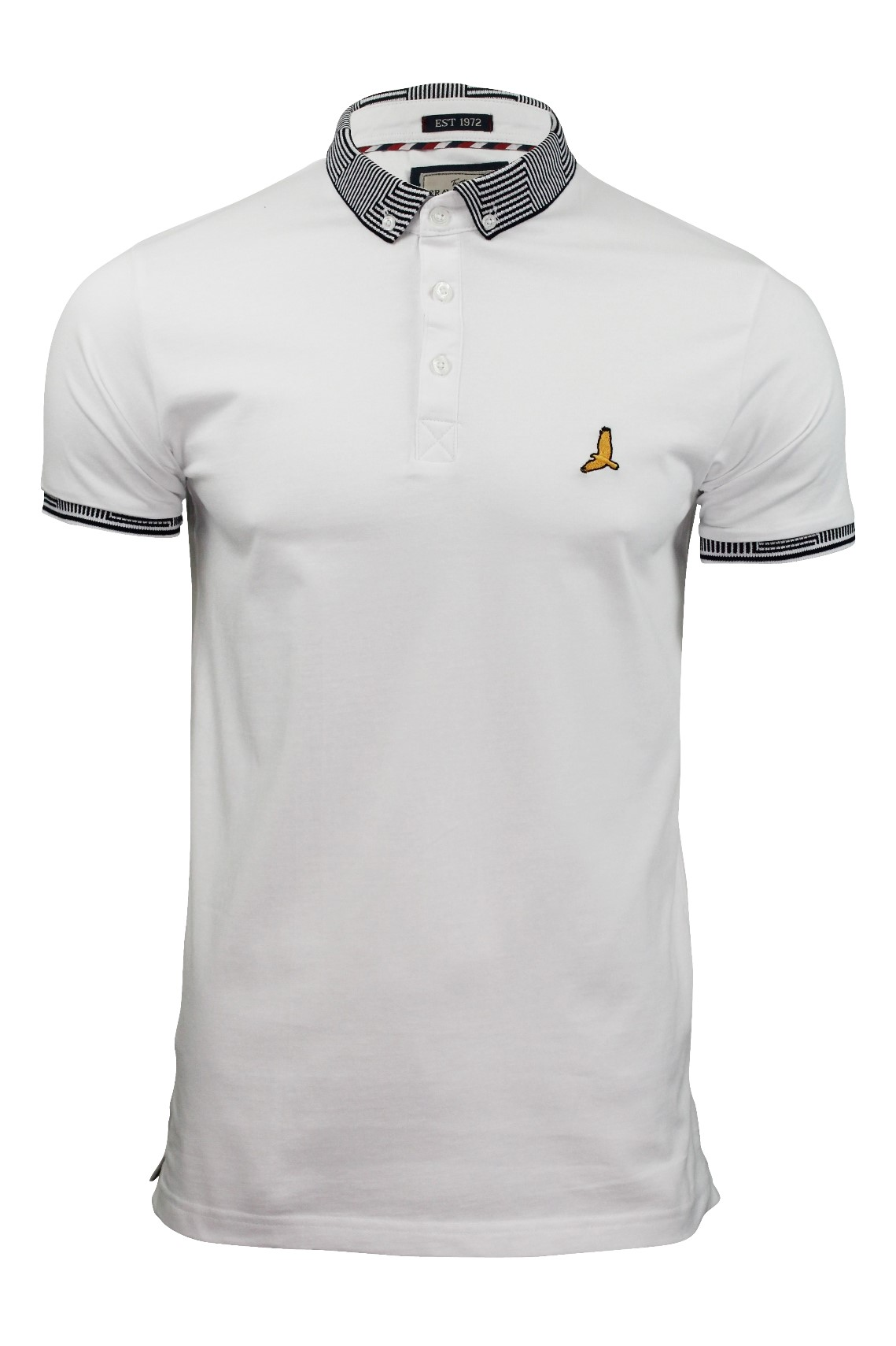 Mens-Polo-Shirt-by-Brave-Soul-039-Glover-039-Short-Sleeved