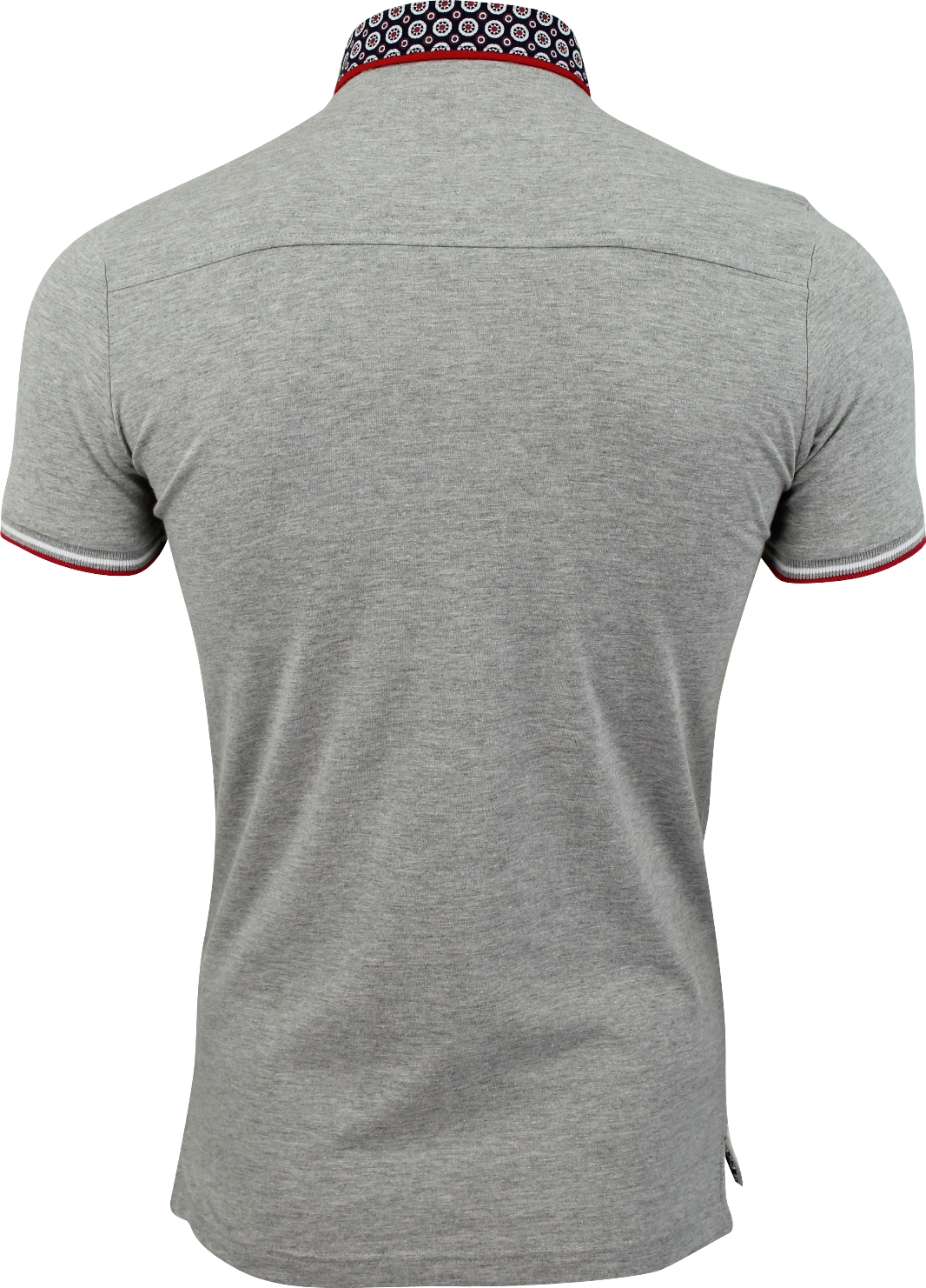 Mens-Polo-T-Shirt-Chimera-Brave-Soul-Denim-Chambray-Collar-Short-Sleeved-Cotton thumbnail 40