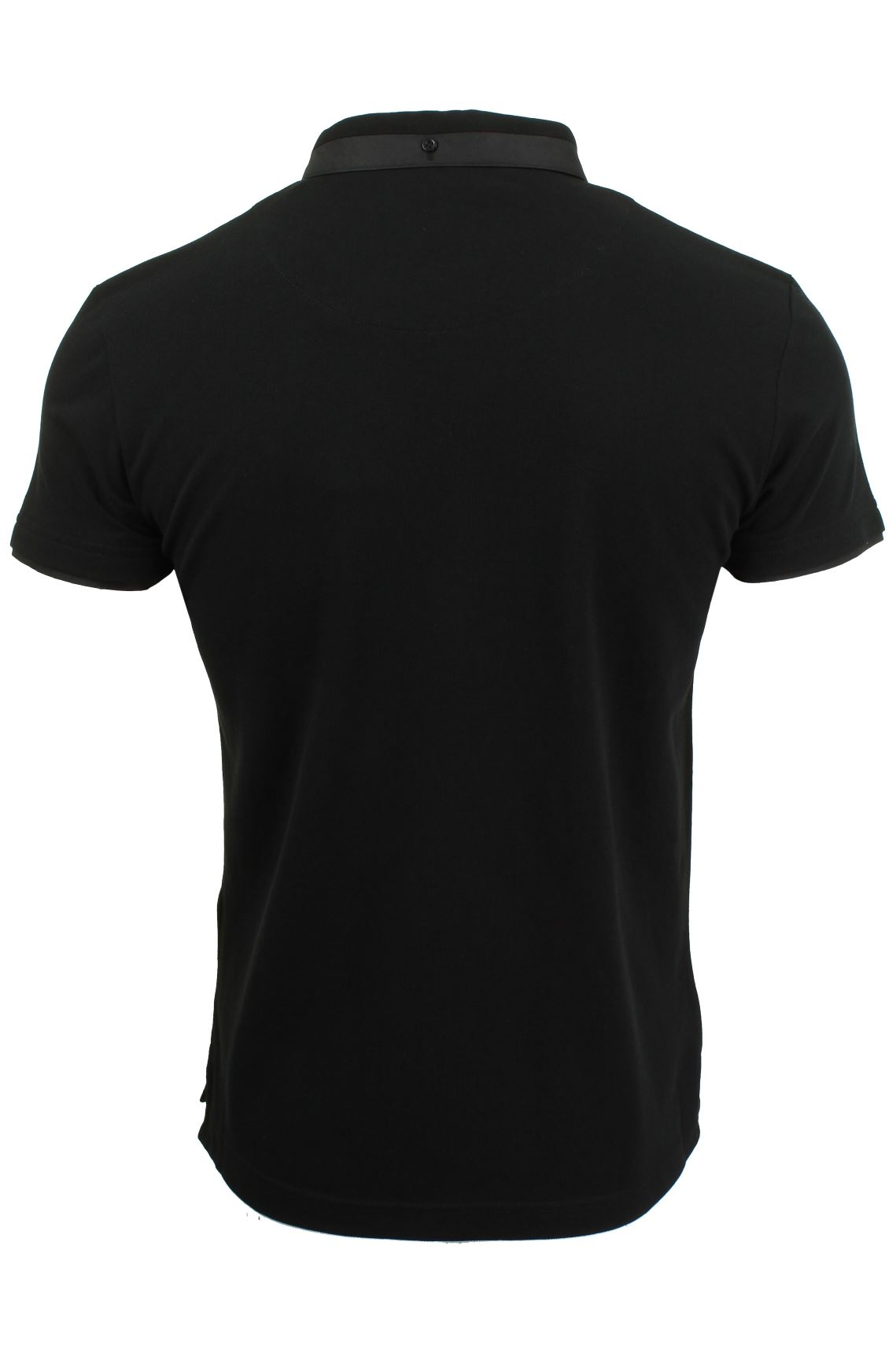 Mens-Short-Sleeved-Polo-Shirt-from-the-Blackout-Collection-by-Voi-Jeans thumbnail 19