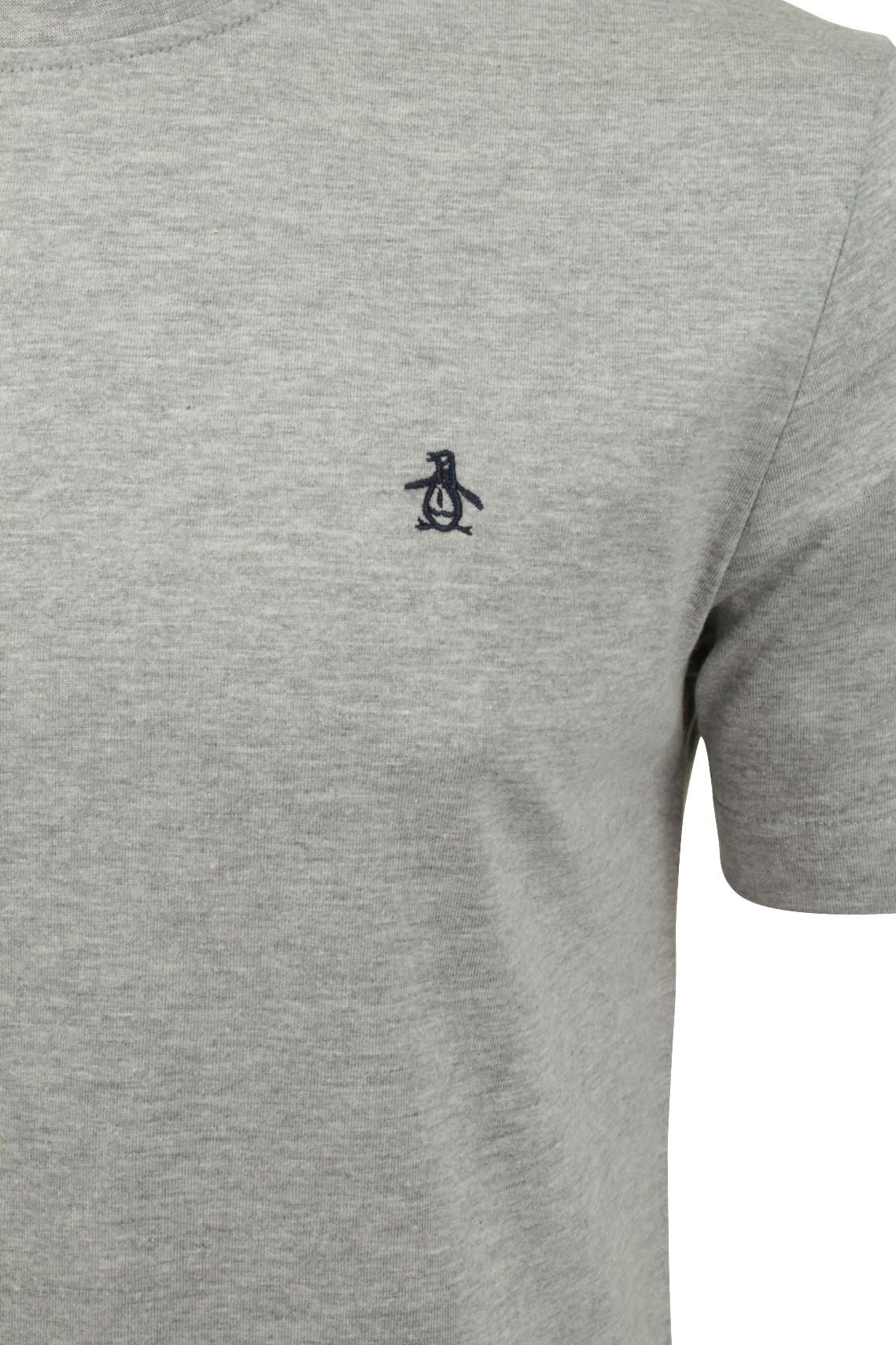 Mens-T-Shirt-by-Original-Penguin-Crew-Neck-Short-Sleeved thumbnail 37