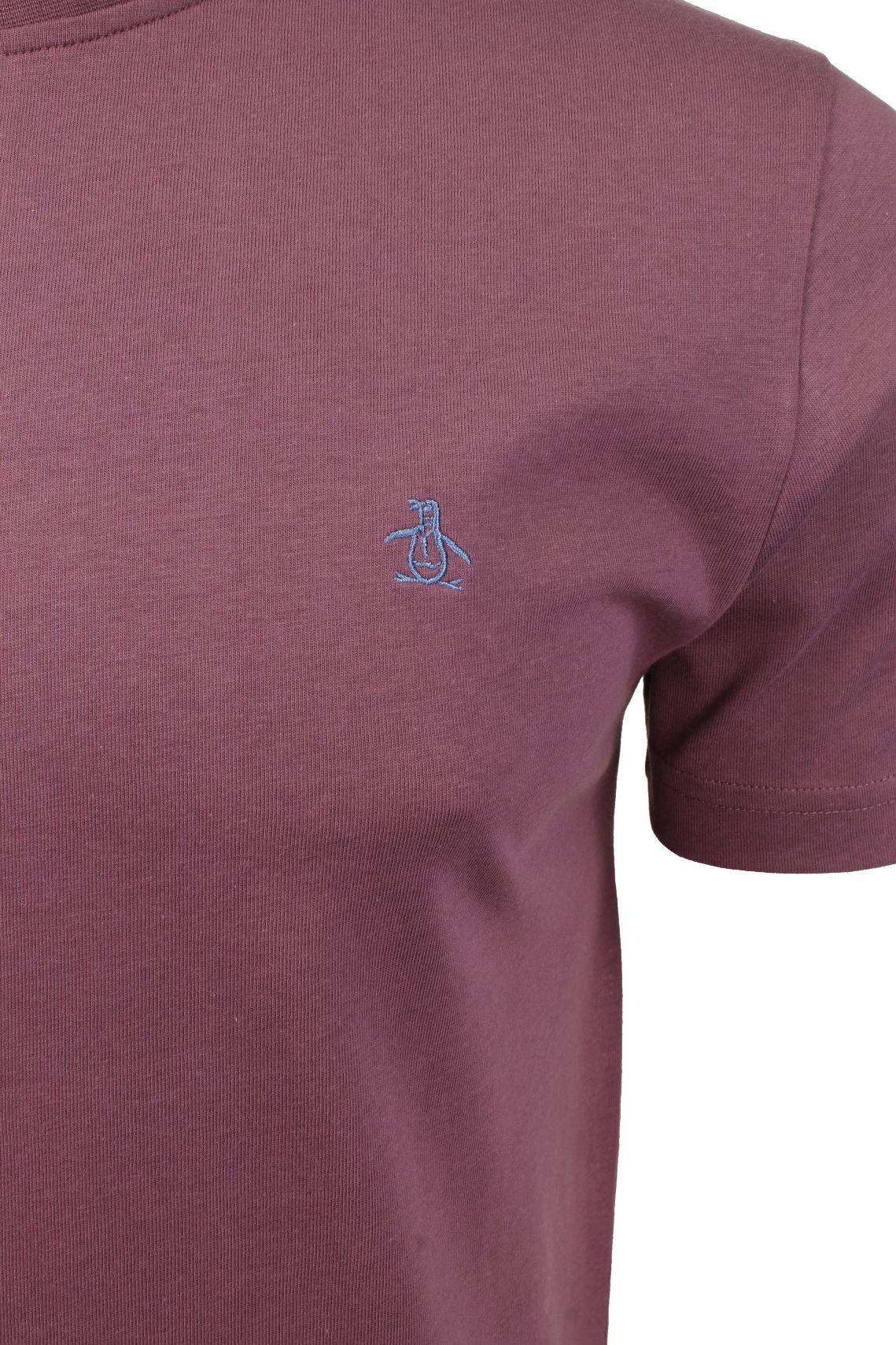 Mens-T-Shirt-by-Original-Penguin-Crew-Neck-Short-Sleeved thumbnail 34