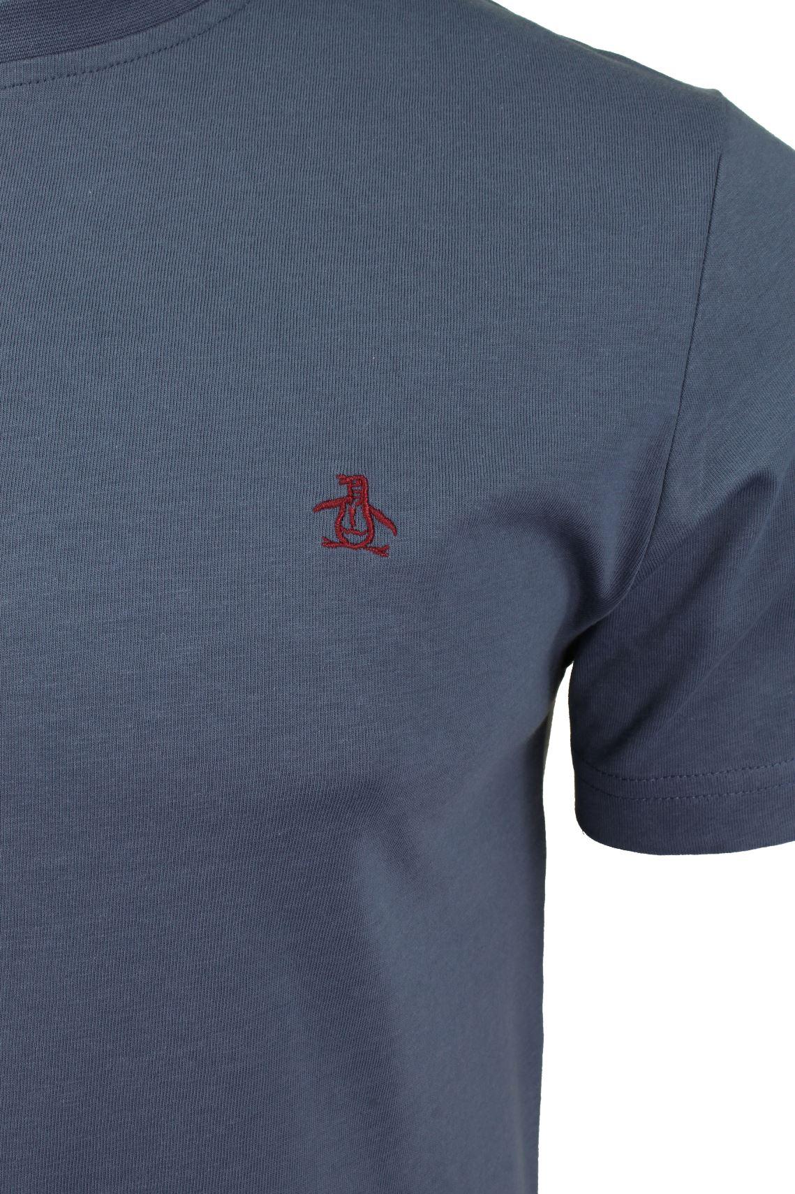 Mens-T-Shirt-by-Original-Penguin-Crew-Neck-Short-Sleeved thumbnail 55