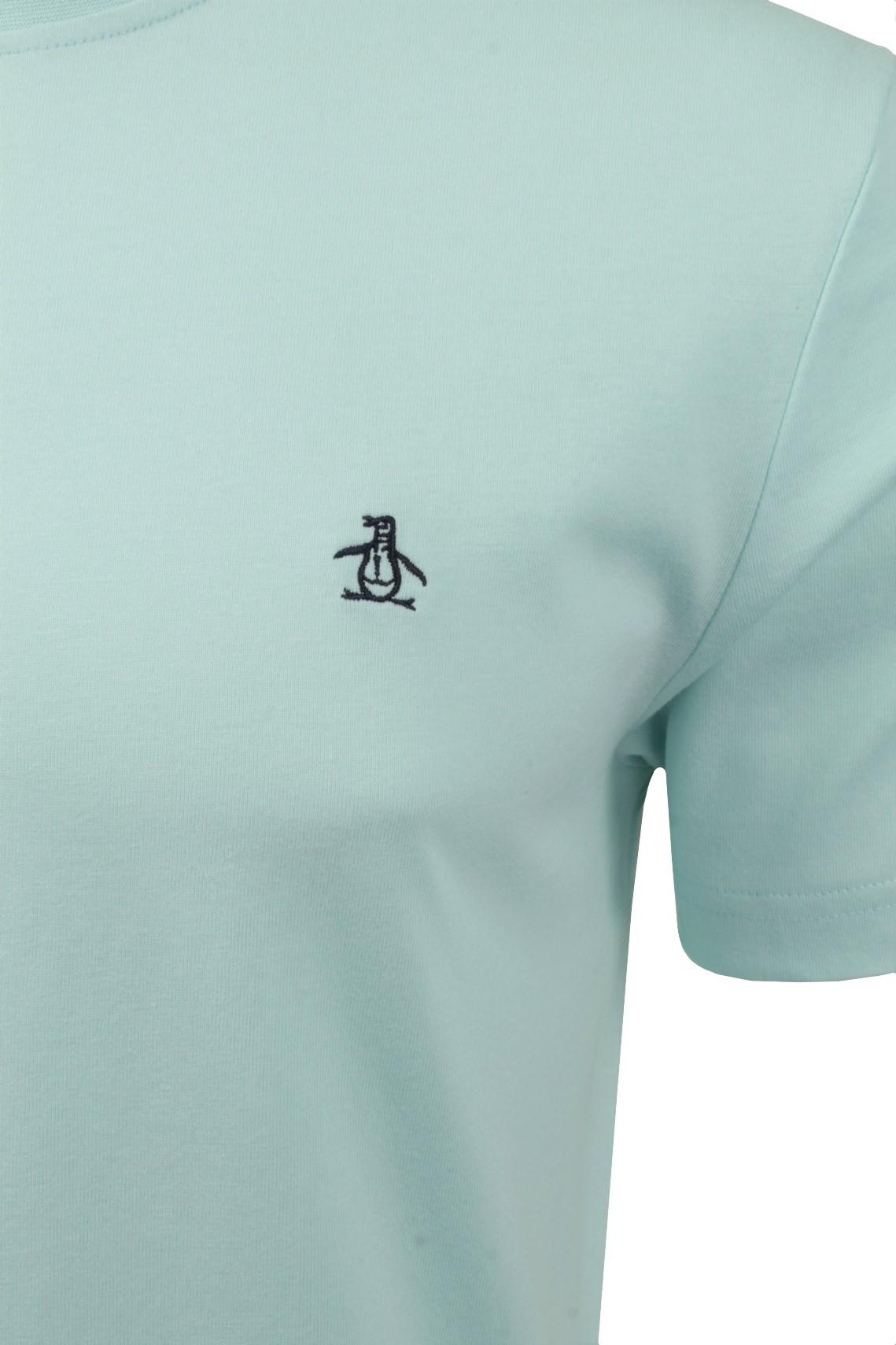 Mens-T-Shirt-by-Original-Penguin-Crew-Neck-Short-Sleeved thumbnail 4