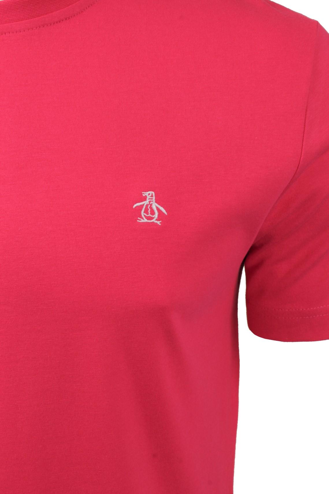 Mens-T-Shirt-by-Original-Penguin-Crew-Neck-Short-Sleeved thumbnail 40