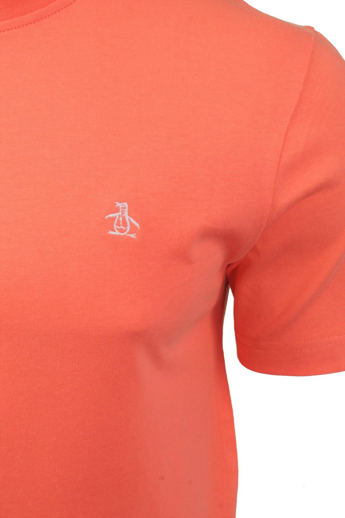 Mens-T-Shirt-by-Original-Penguin-Crew-Neck-Short-Sleeved thumbnail 31
