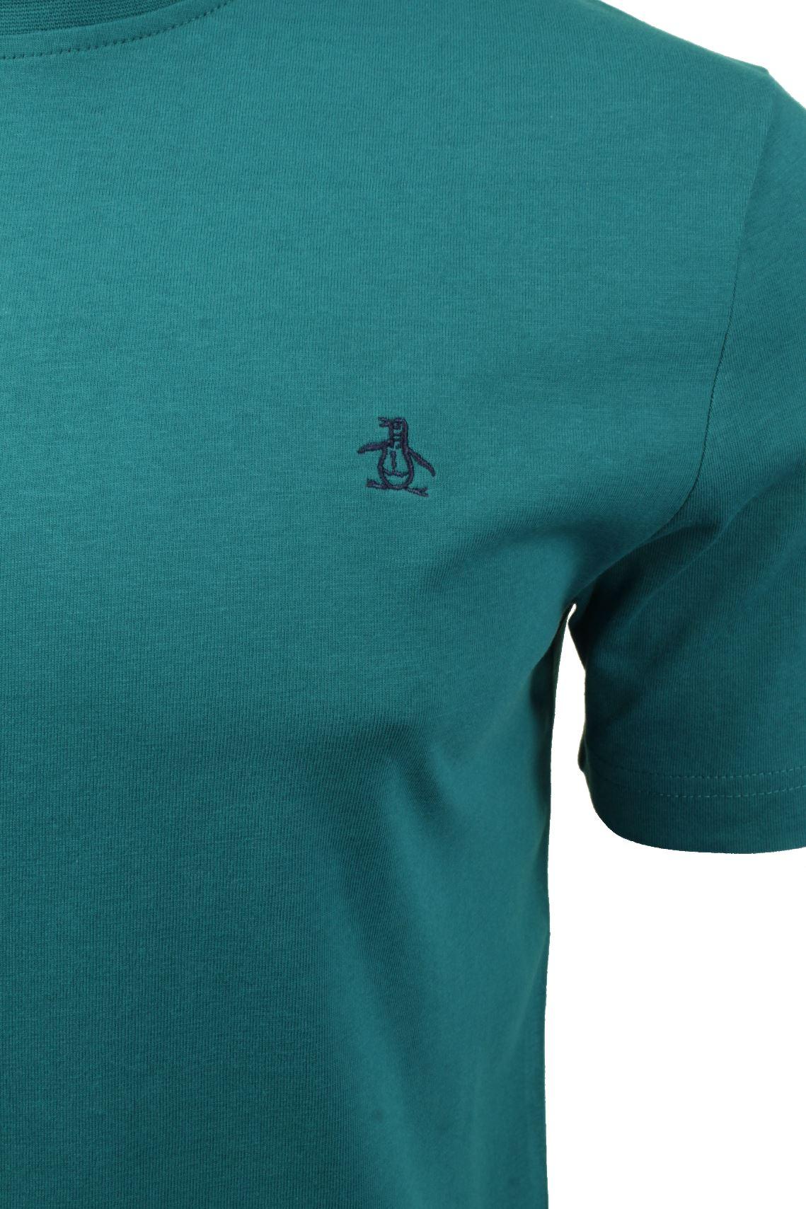 Mens-T-Shirt-by-Original-Penguin-Crew-Neck-Short-Sleeved thumbnail 19