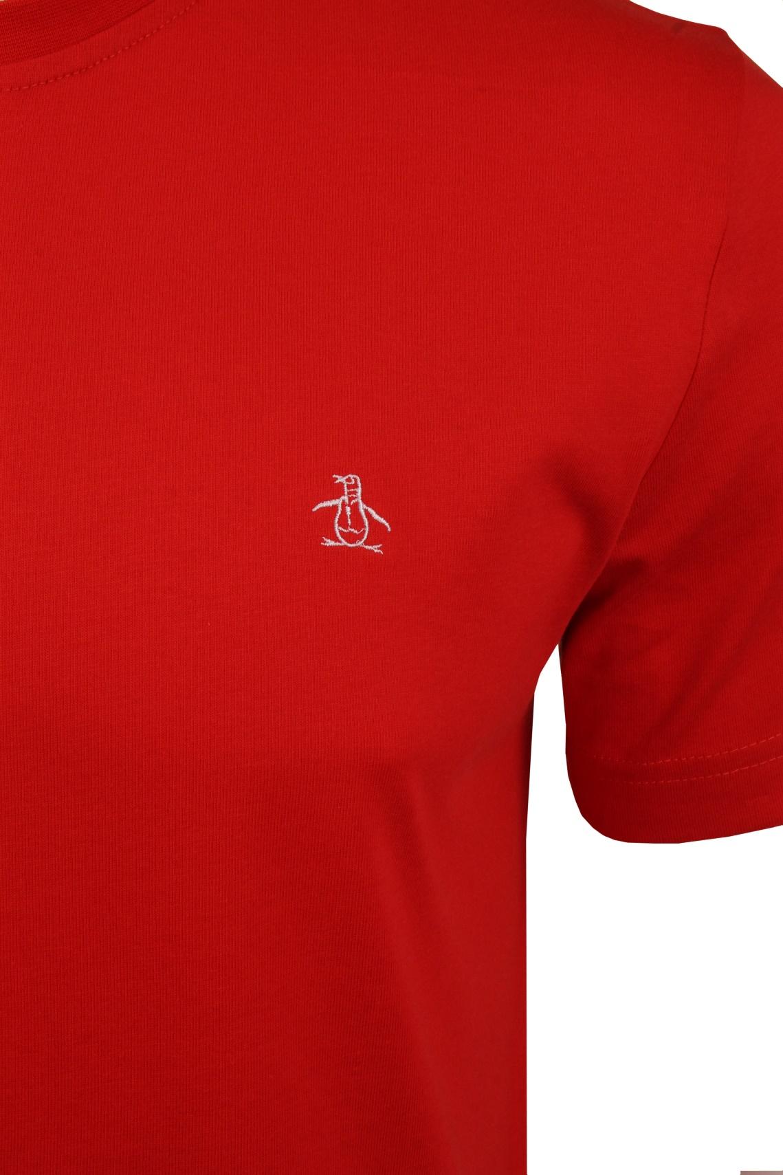 Mens-T-Shirt-by-Original-Penguin-Crew-Neck-Short-Sleeved thumbnail 25