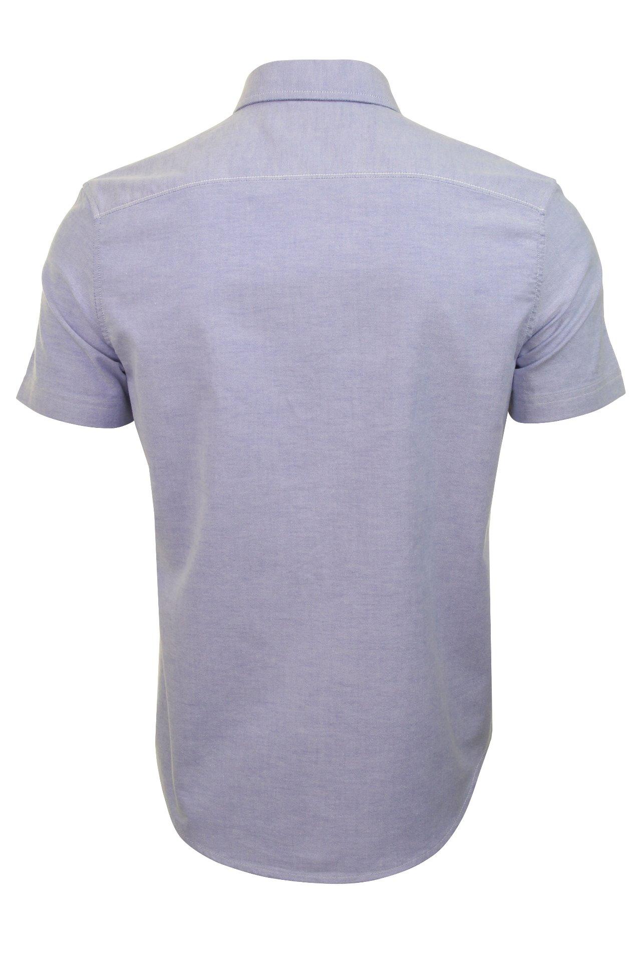 Original-Penguin-Mens-Stretch-Oxford-Shirt-Short-Sleeved thumbnail 5