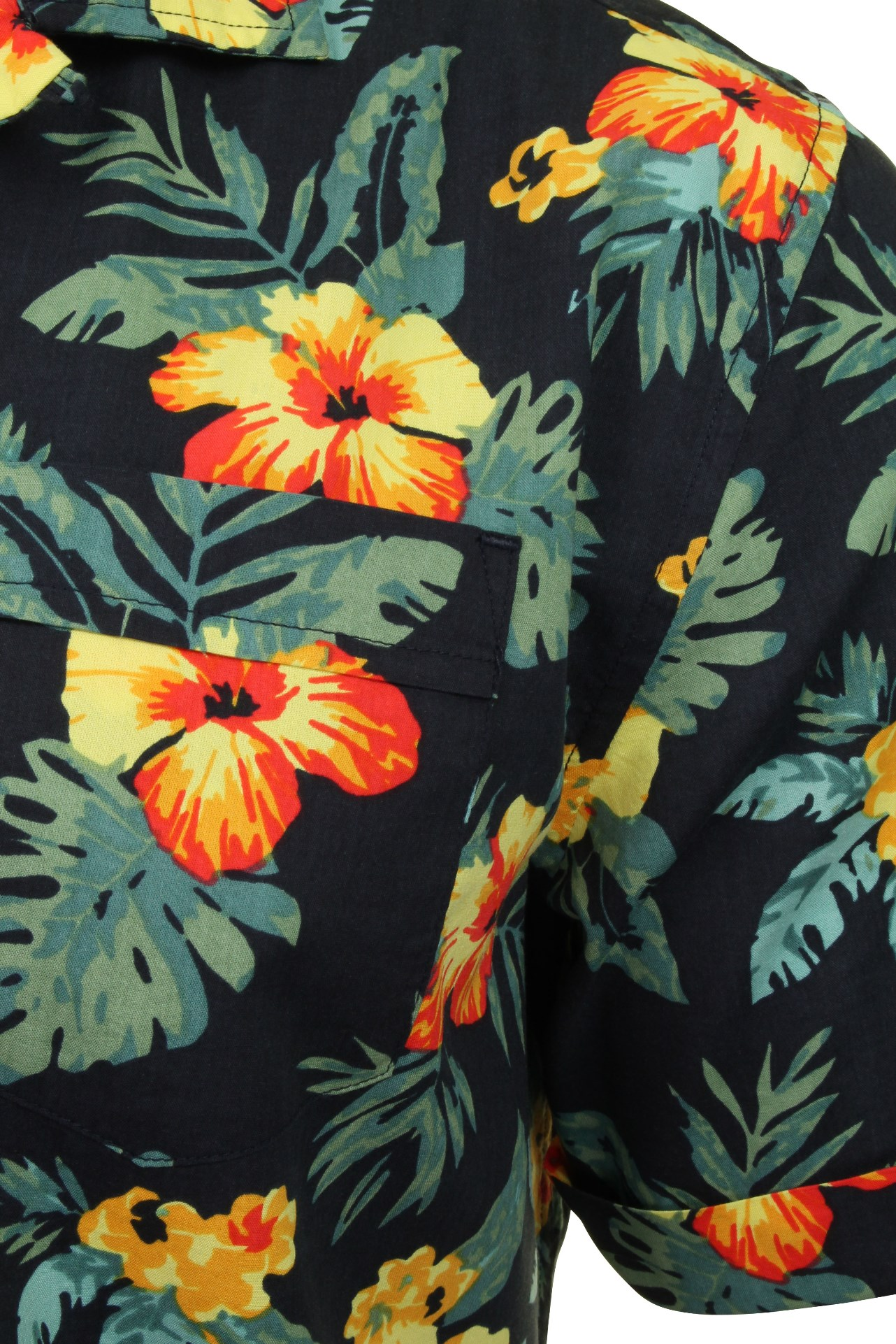 Original-Penguin-Mens-Shirt-039-Floral-Printed-039-Short-Sleeved thumbnail 3