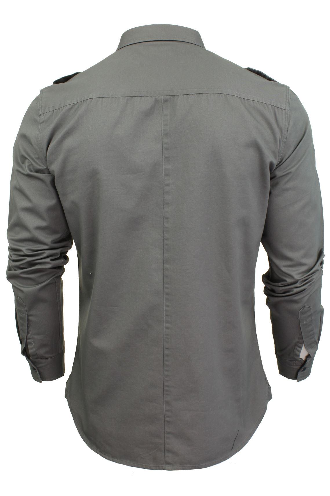 Camisa-para-hombre-por-Firetrap-039-Pittson-039-Manga-Larga miniatura 23