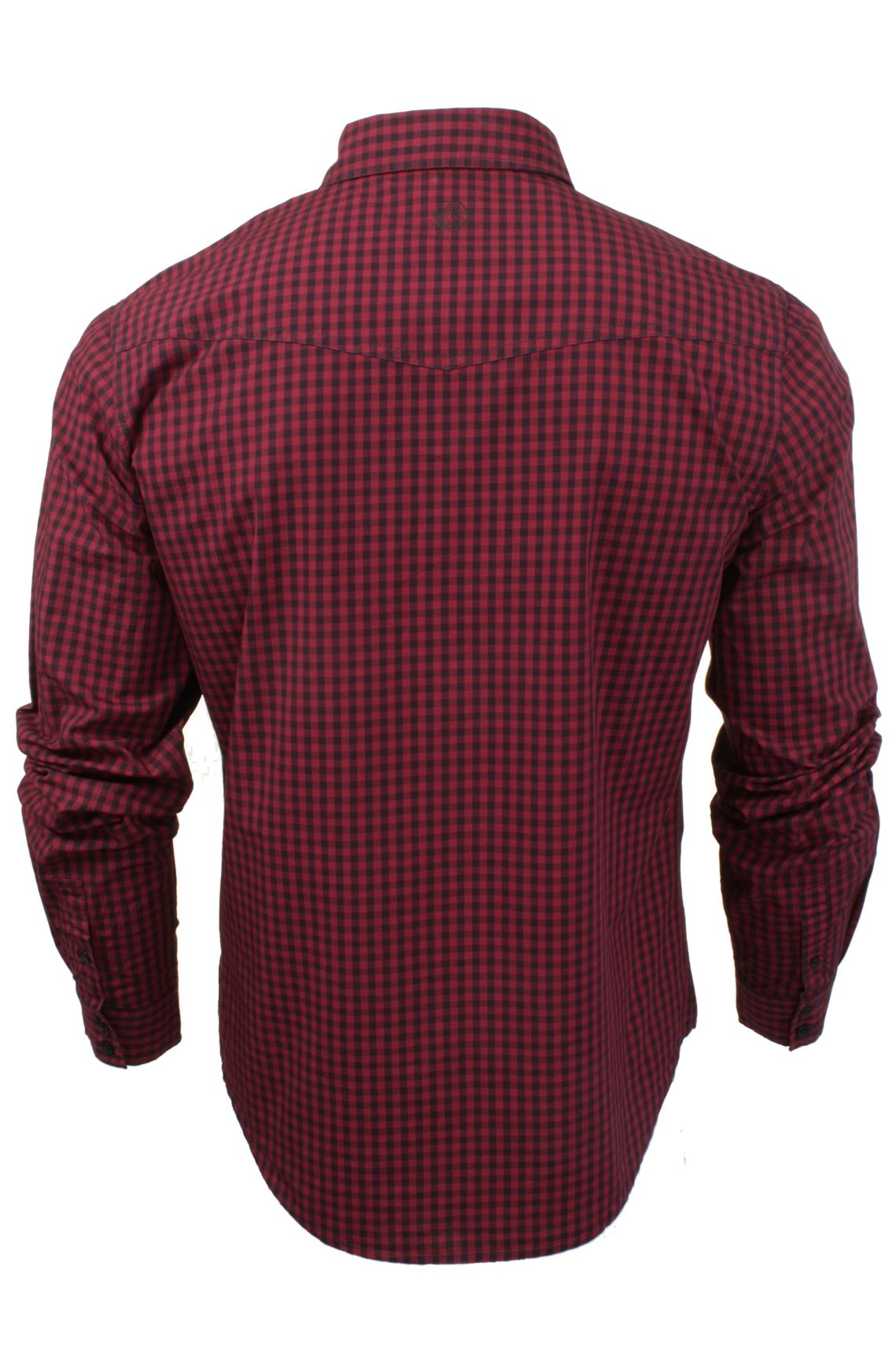 Mens-Check-Shirt-by-Smith-amp-Jones-039-Porticus-039-Long-Sleeved thumbnail 8