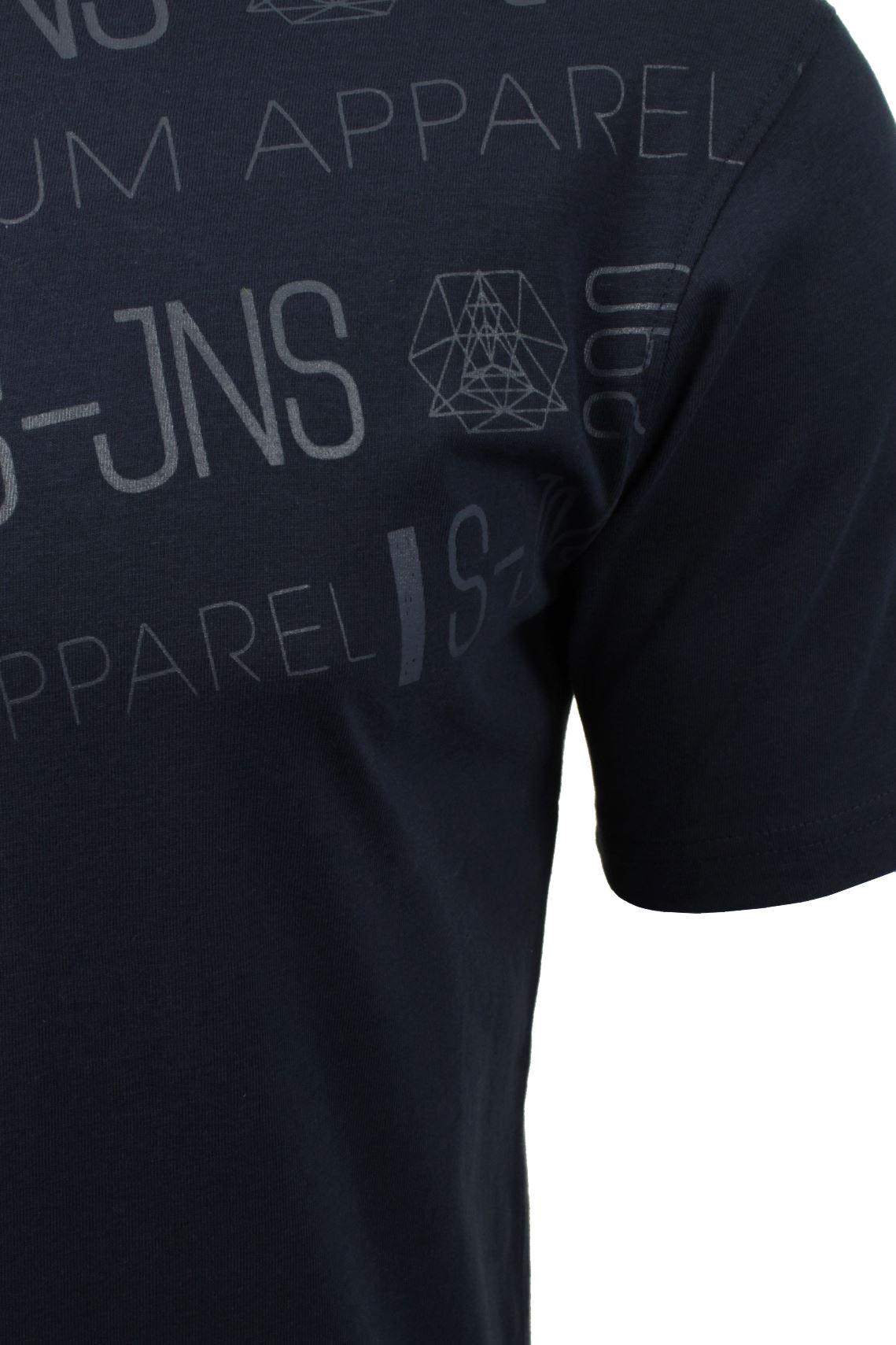 T-shirt-homme-par-smith-amp-jones-sont-redox-034-a-manches-courtes