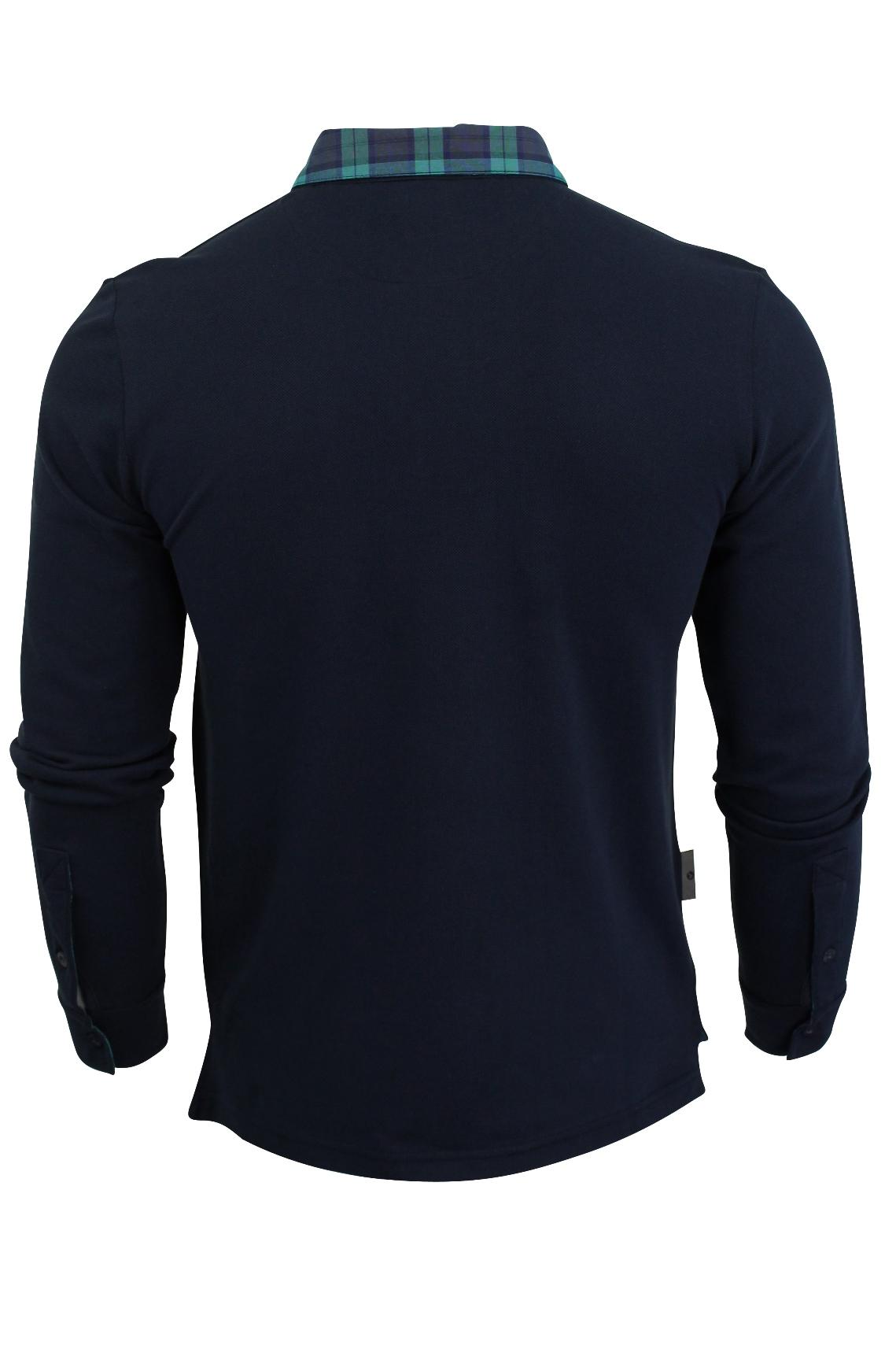 Camisa-Polo-para-hombre-por-Voi-Jeans-039-Rory-039-Manga-Larga miniatura 5