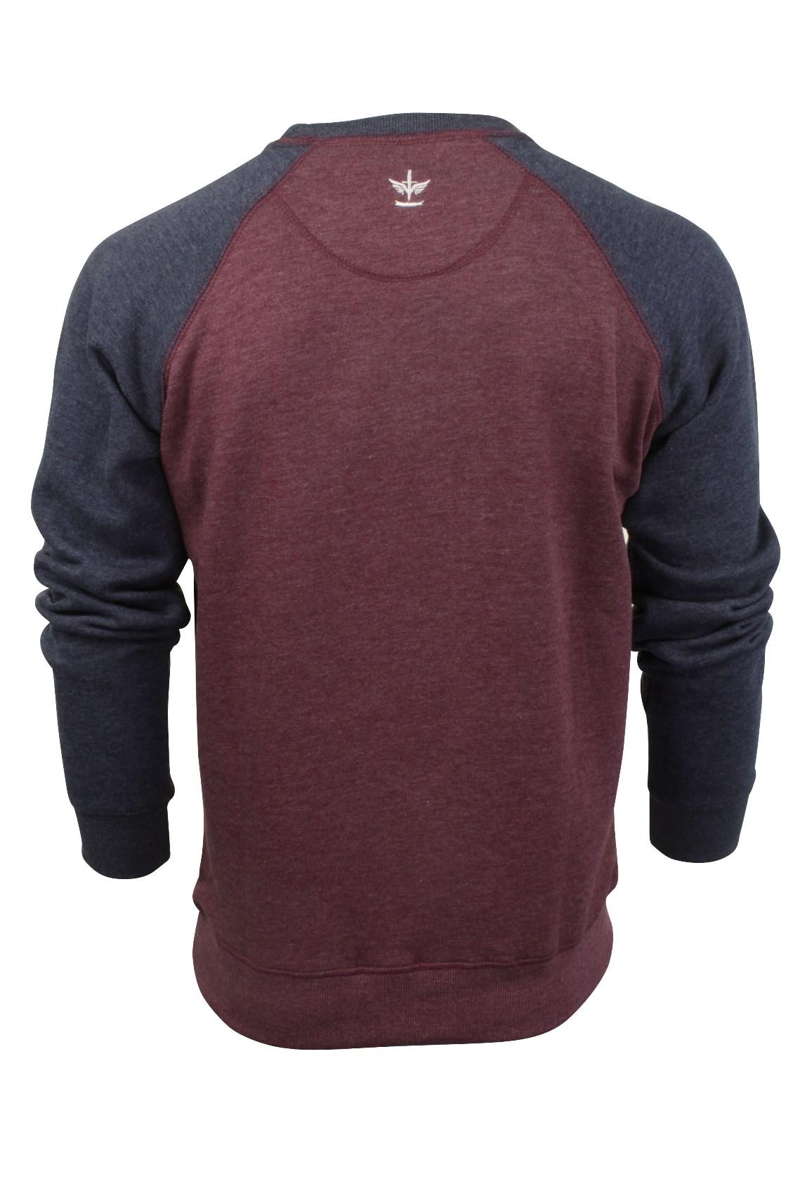 Jersey-Para-Hombre-Top-de-sudor-por-Firetrap-039-represento-039-Cuello-Redondo miniatura 4