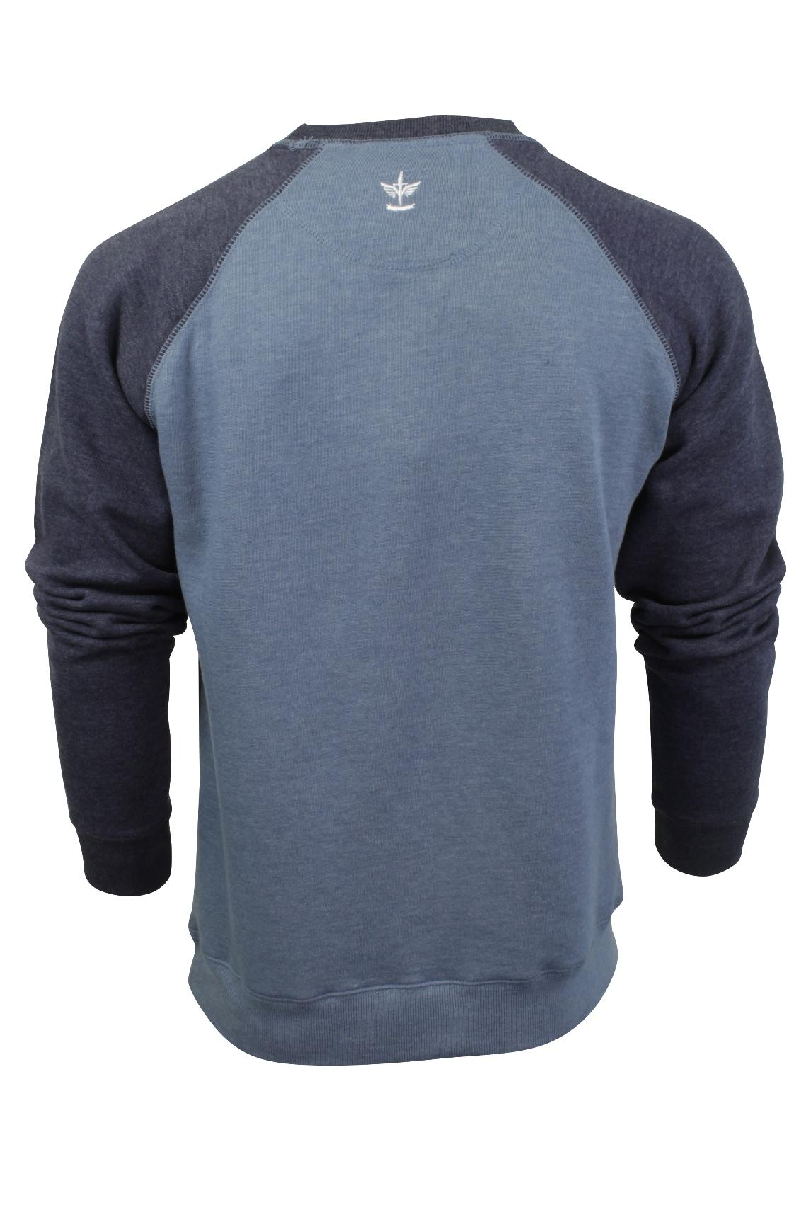 Jersey-Para-Hombre-Top-de-sudor-por-Firetrap-039-represento-039-Cuello-Redondo miniatura 6