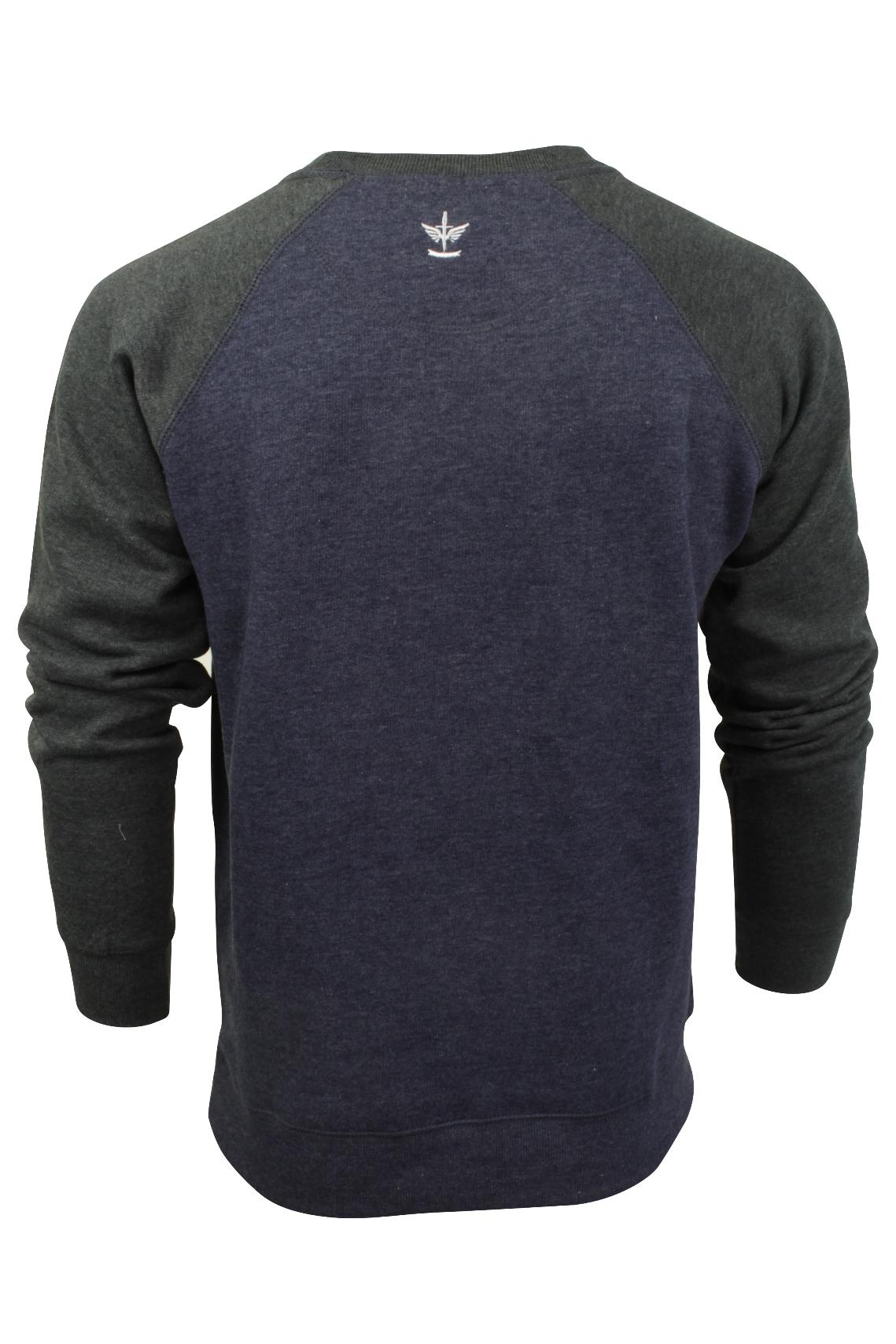 Jersey-Para-Hombre-Top-de-sudor-por-Firetrap-039-represento-039-Cuello-Redondo miniatura 10