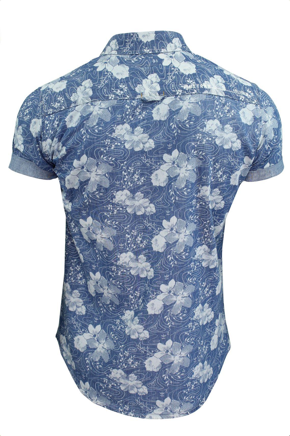 Mens-Short-Sleeved-Shirt-by-Firetrap thumbnail 20