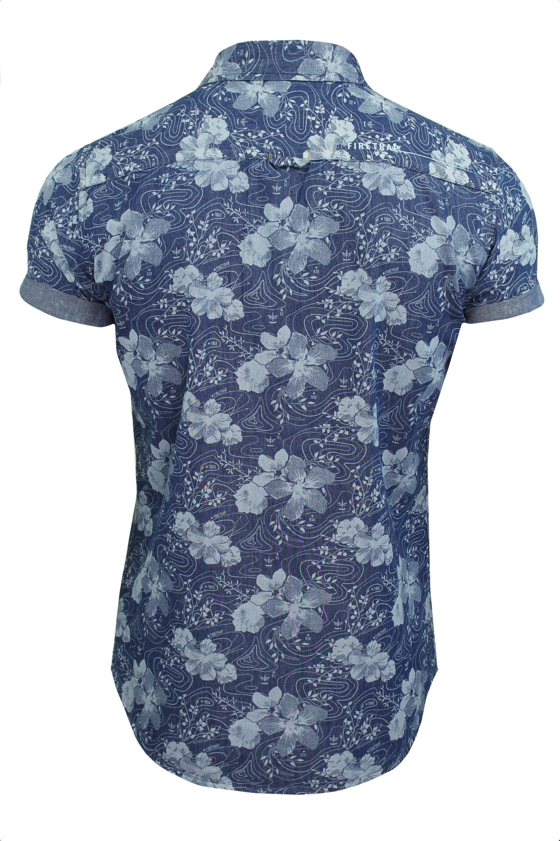 Mens-Short-Sleeved-Shirt-by-Firetrap thumbnail 32