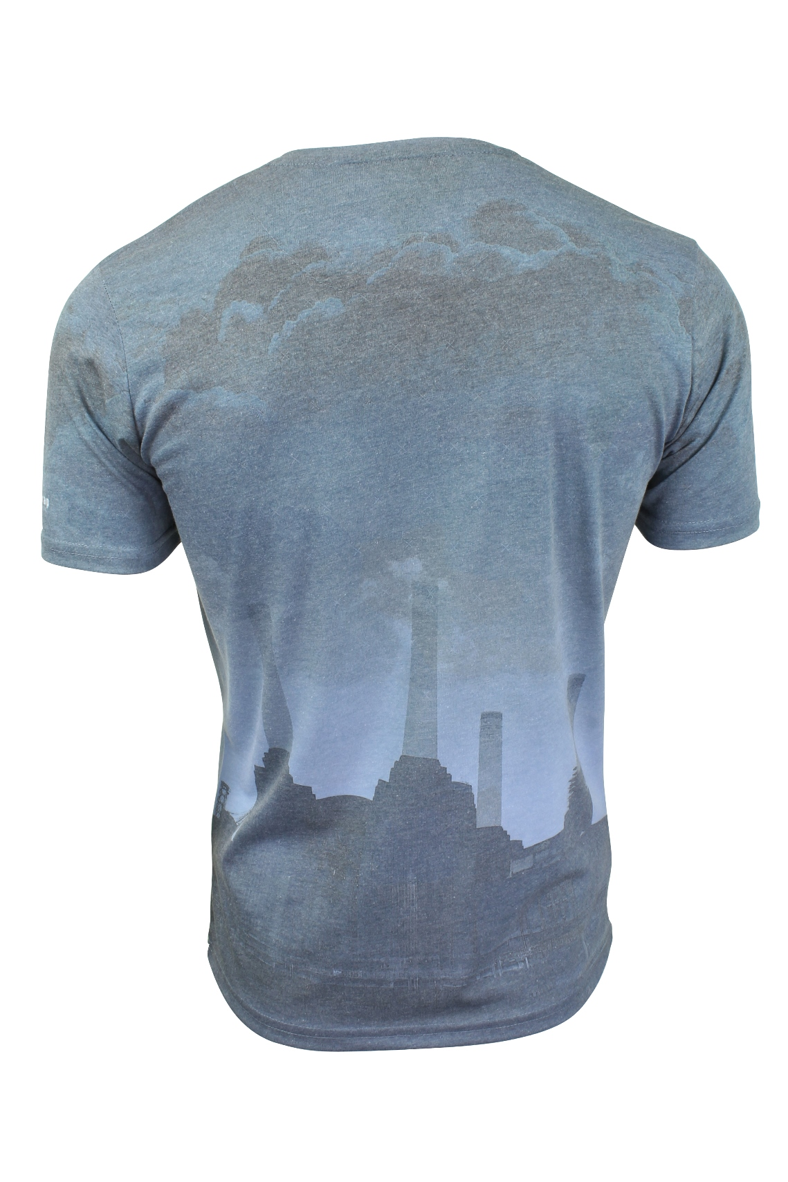 Mens T-Shirt by Firetrap /'Selah/' Battersea Power Station Print