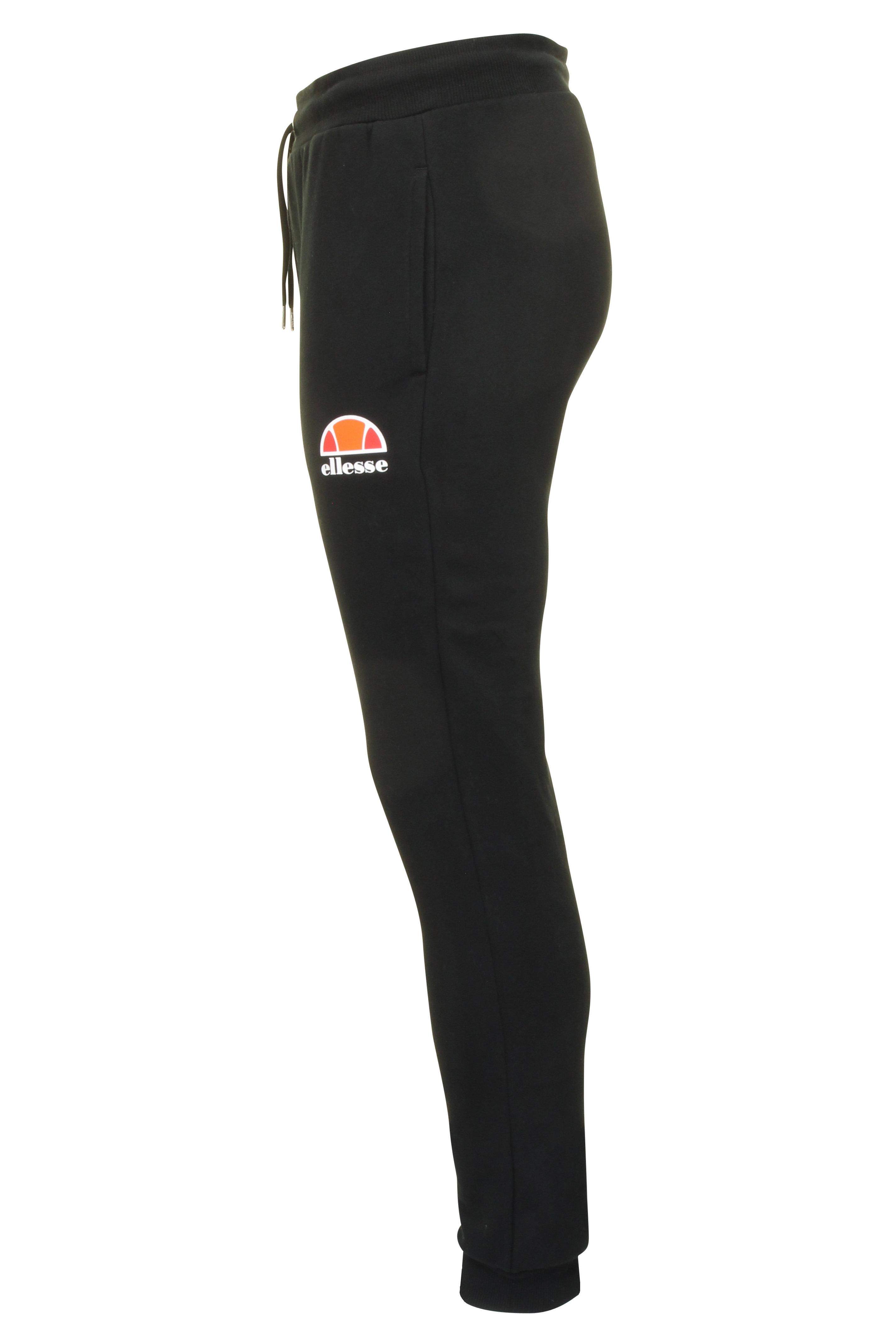 Ellesse-Da-Uomo-Pantaloni-Sportivi-Jog-Pantaloni-con-logo-034-Ovest-034 miniatura 4