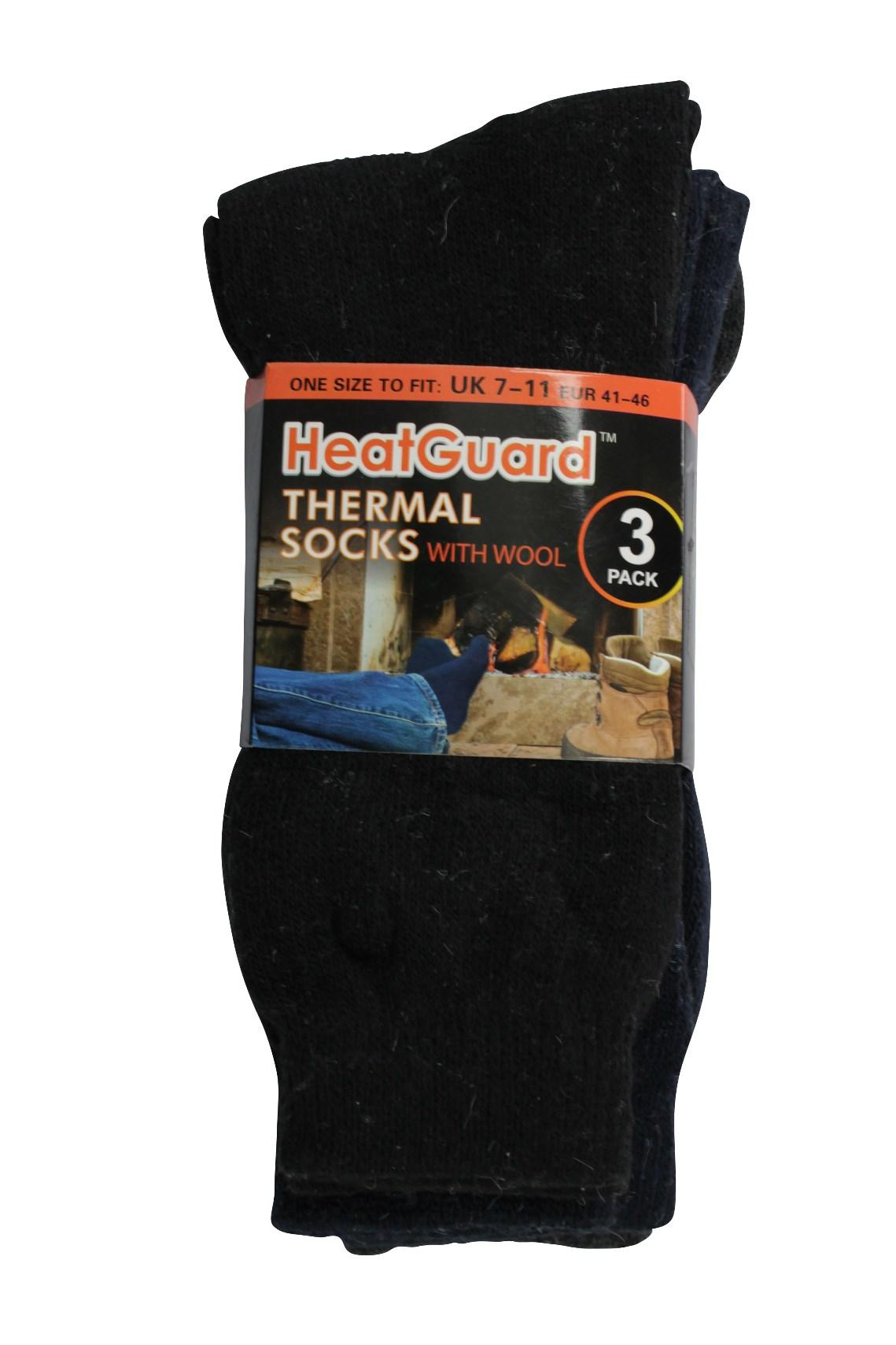 Heatguard - Chaussettes ordinaires - - Homme - ordinaires (3-Pk) 2477d1