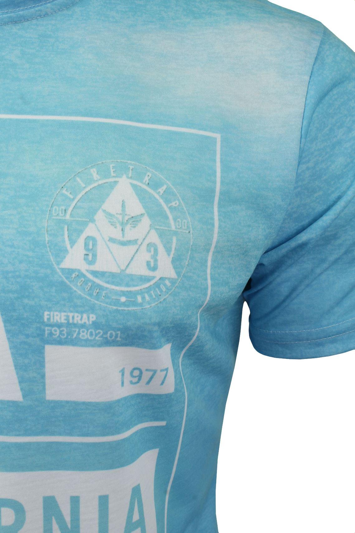 Firetrap-Mens-T-Shirt-039-Sunny-Tee-039-USA-City-Print thumbnail 4
