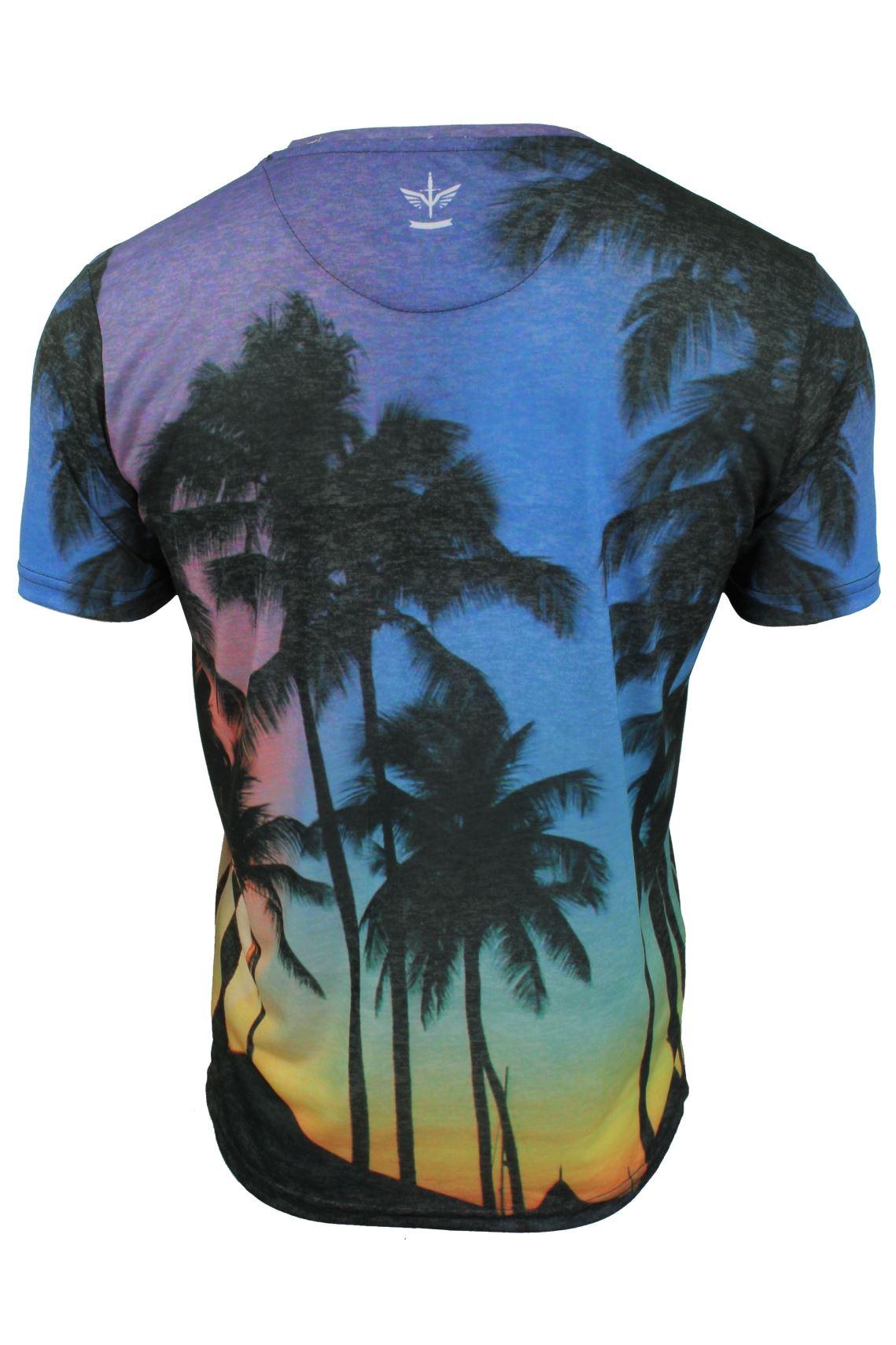 Firetrap-Mens-T-Shirt-039-Sunny-Tee-039-USA-City-Print thumbnail 8