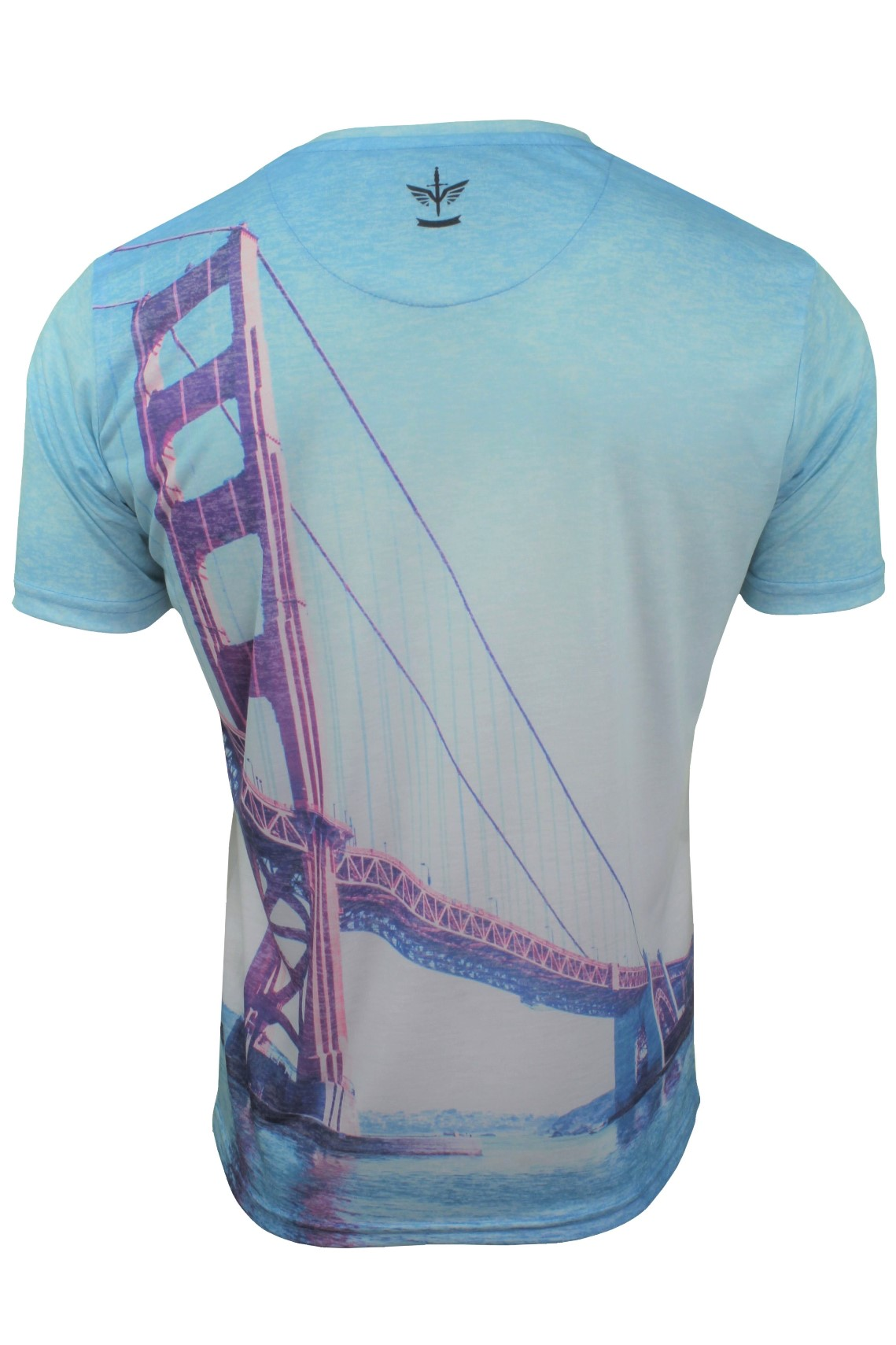 Firetrap-Mens-T-Shirt-039-Sunny-Tee-039-USA-City-Print thumbnail 11